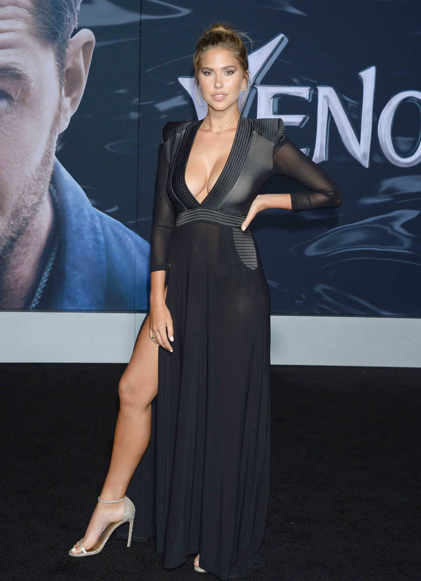 Kara Del Toro at Venom Premiere in LA 10/01/2018