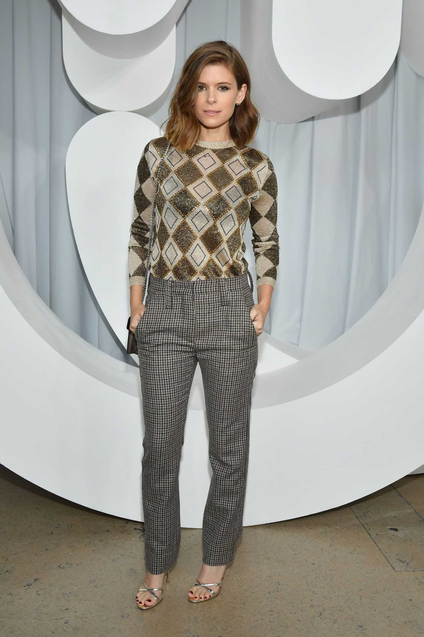 Kate Mara Attends the Miu Miu Show During the Paris Fashion Week in Paris 10/02/2018