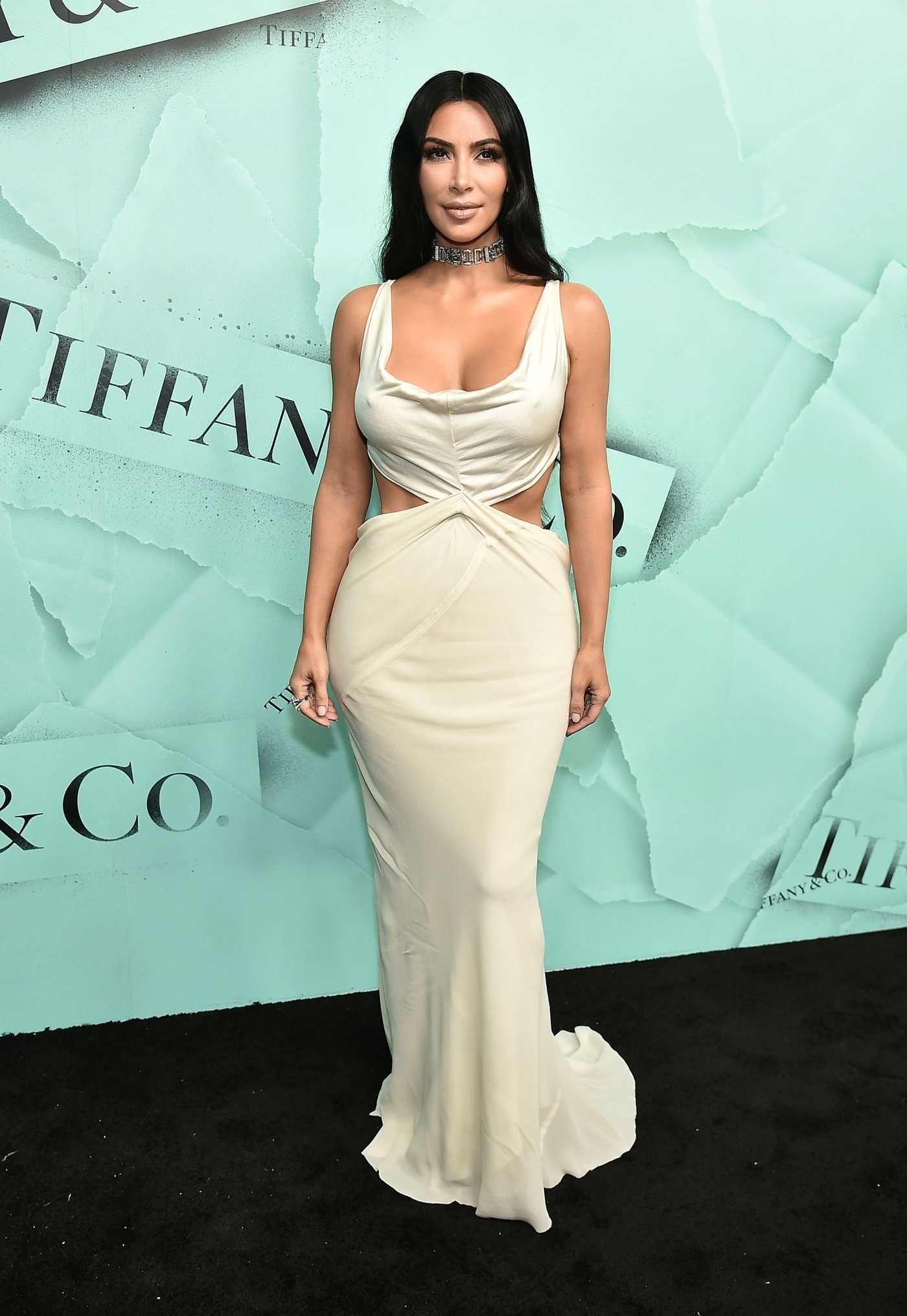 Kim Kardashian Celebrates 2018 Tiffany Blue Book Collection in New York City 10/09/2018