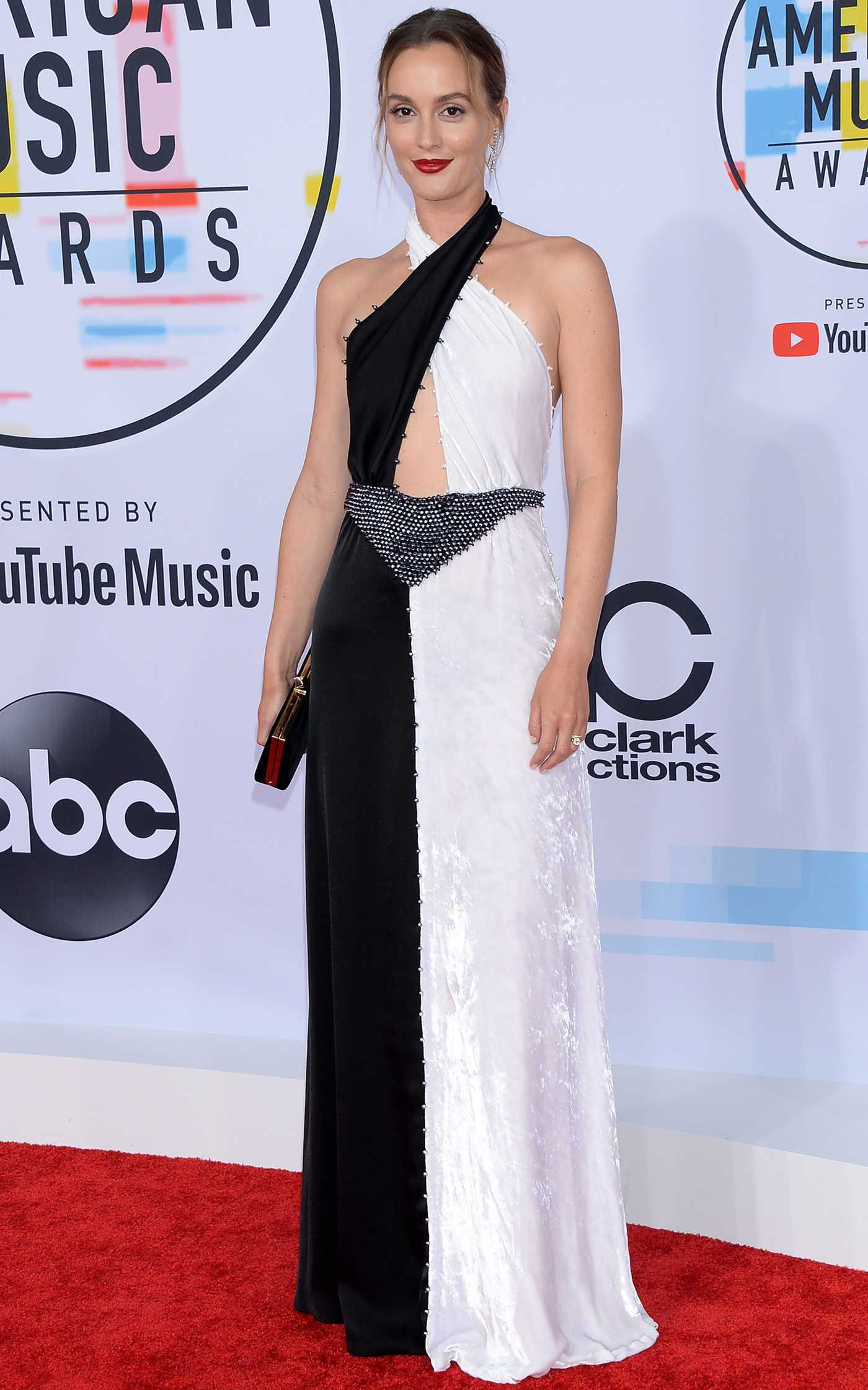 Leighton Meester at 2018 American Music Awards at Microsoft Theater in LA 10/09/2018