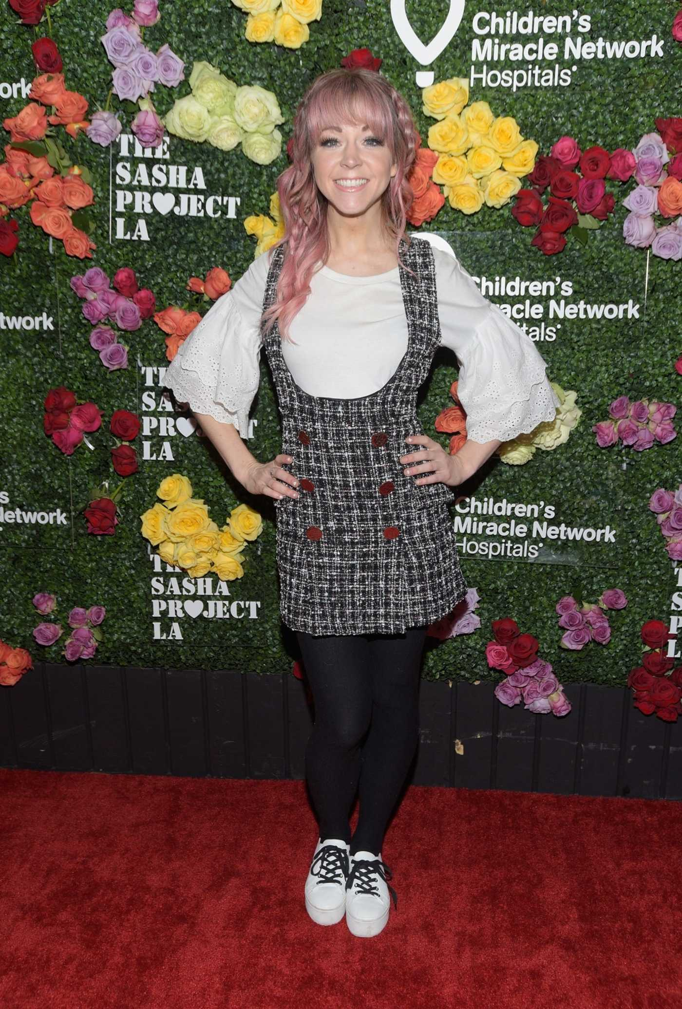 Lindsey Stirling Attends Rock The Runway Presented by Children's Miracle Network Hospitals in Hollywood 10/13/2018