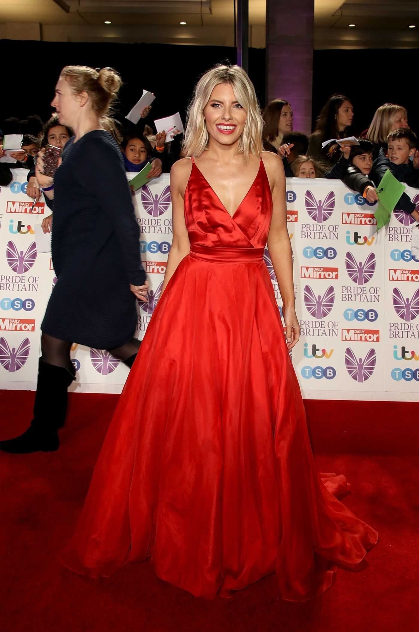 Mollie King Attends 2018 Pride of Britain Awards in London 10/29/2018