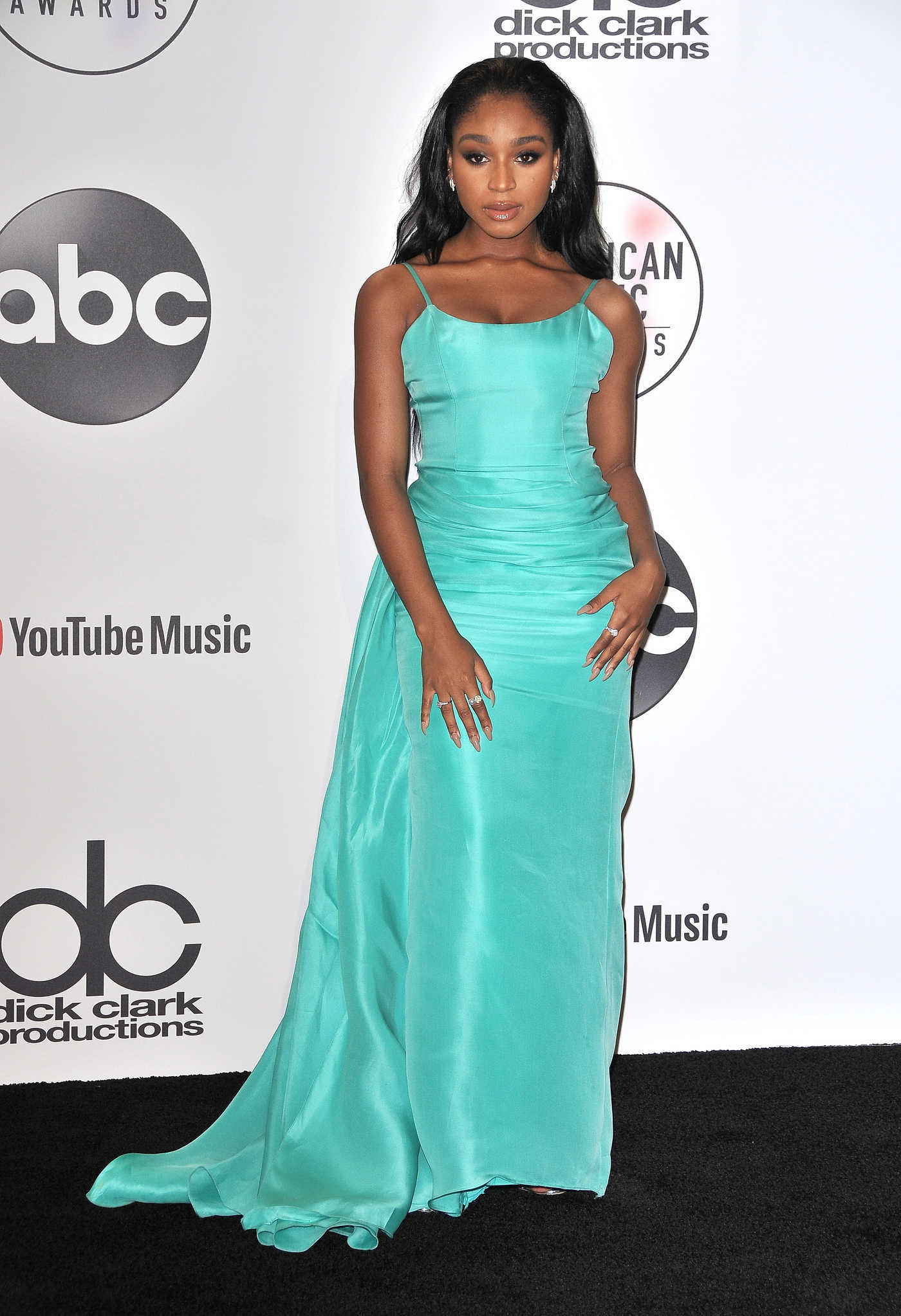 Normani Kordei at 2018 American Music Awards at Microsoft Theater in LA 10/09/2018