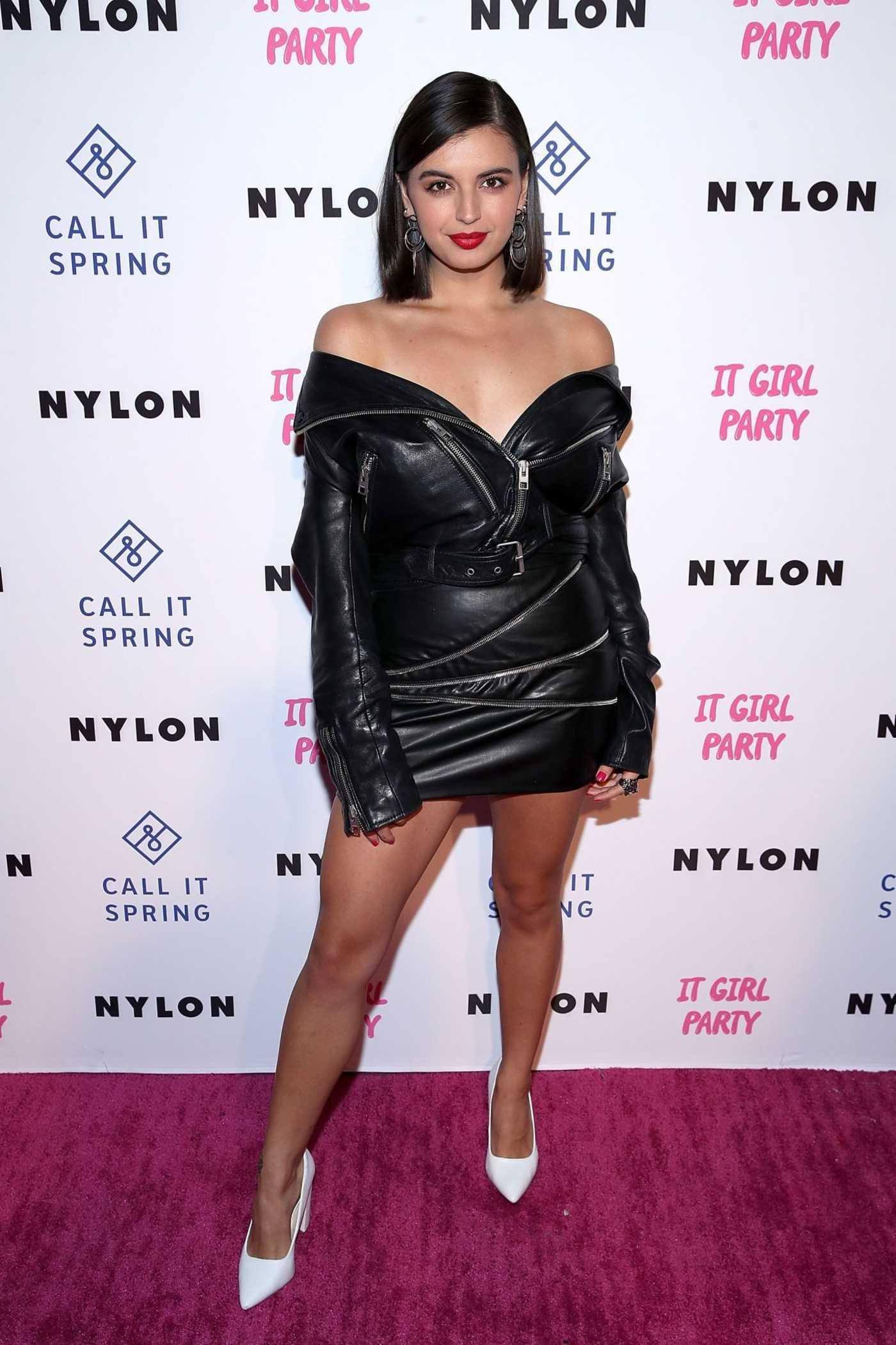 Rebecca Black Attends NYLON's Annual It Girl Party at The Ace Hotel in LA 10/11/2018