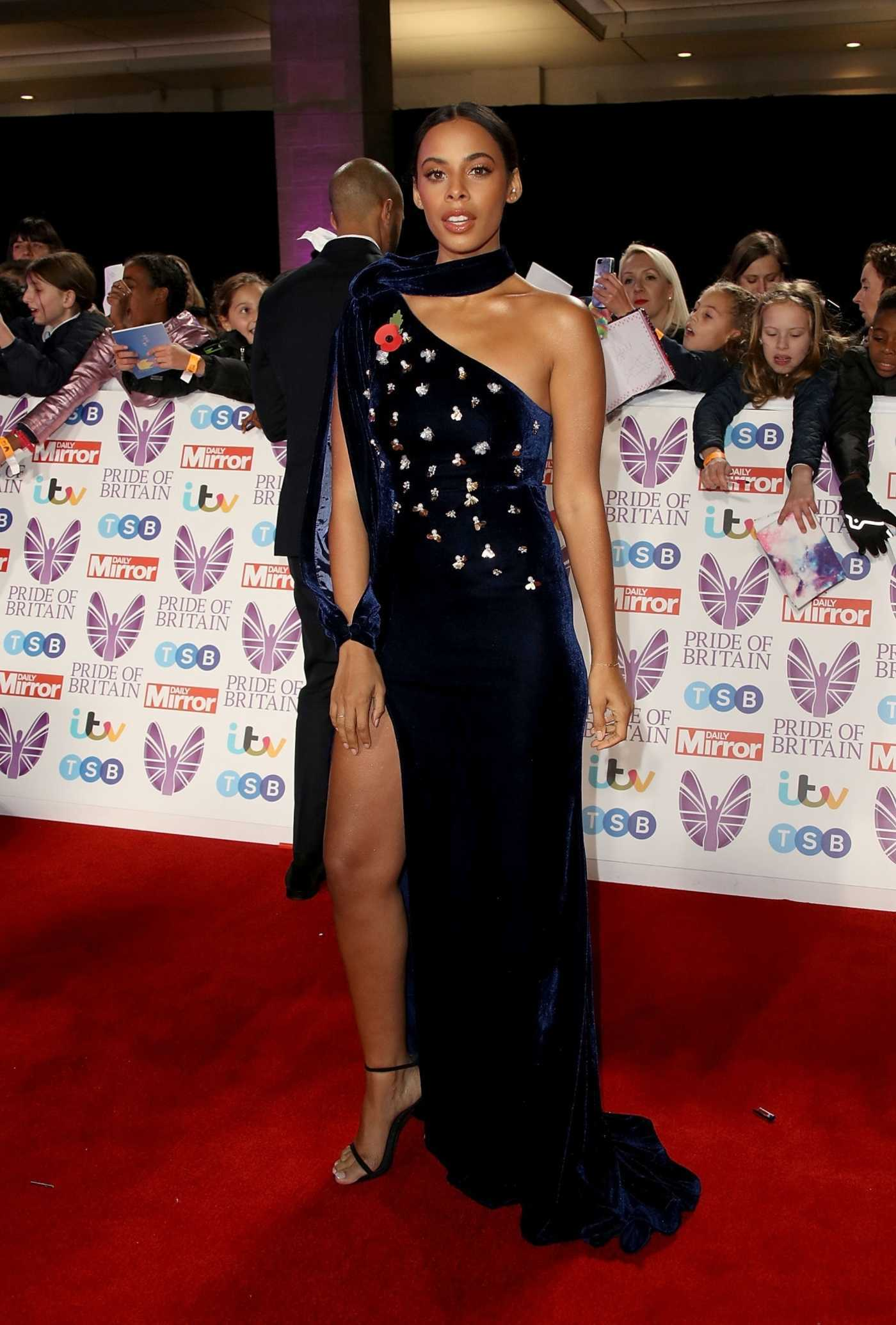 Rochelle Humes Attends 2018 Pride of Britain Awards in London 10/29/2018