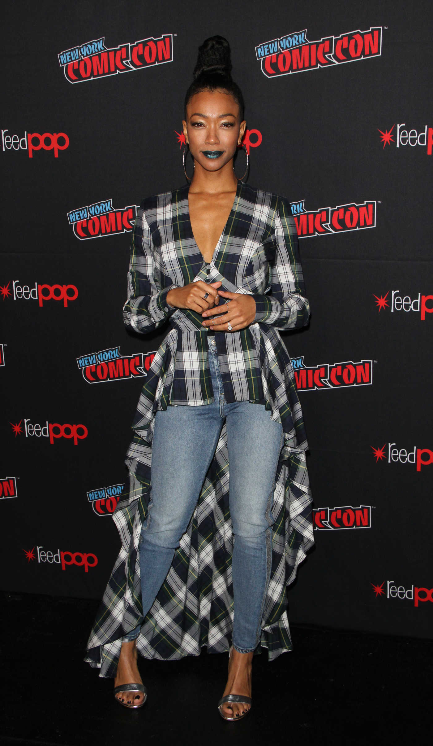 Sonequa Martin-Green at Star Trek: Discovery Panel During Comic Con in New York 10/06/2018
