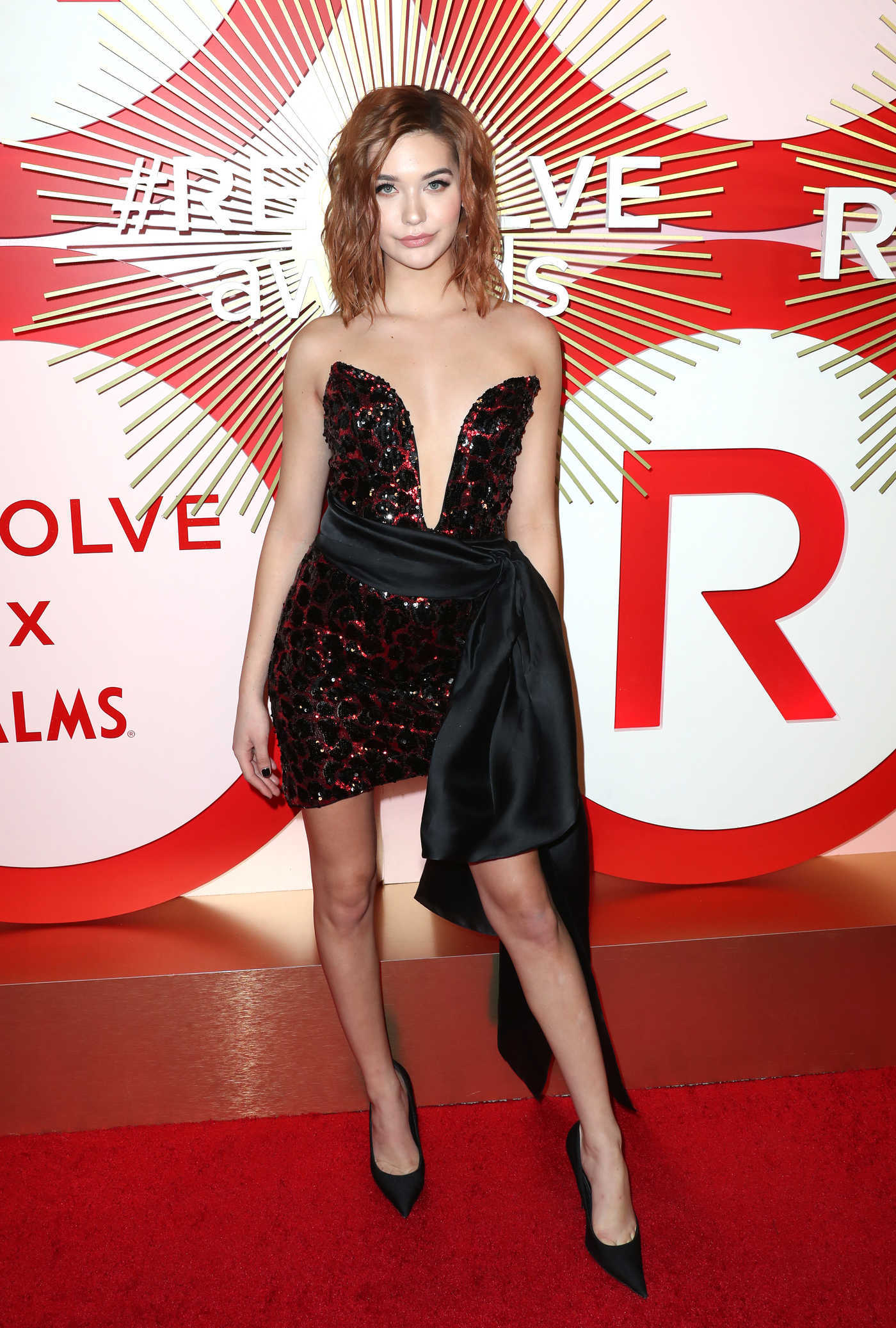 Amanda Steele Attends Revolve's Second Annual REVOLVEawards in Las Vegas 11/09/2018