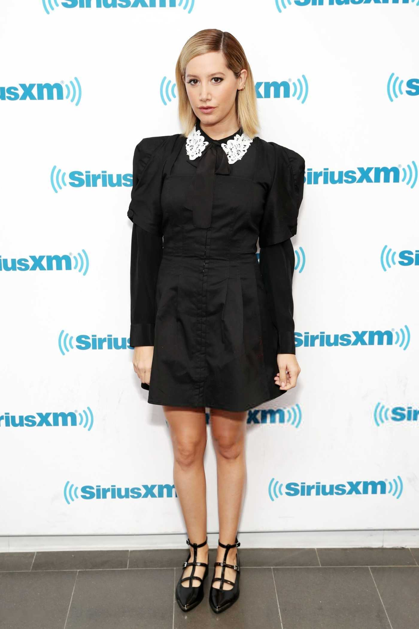 Ashley Tisdale Visits the SiriusXM Studios in New York City 11/13/2018