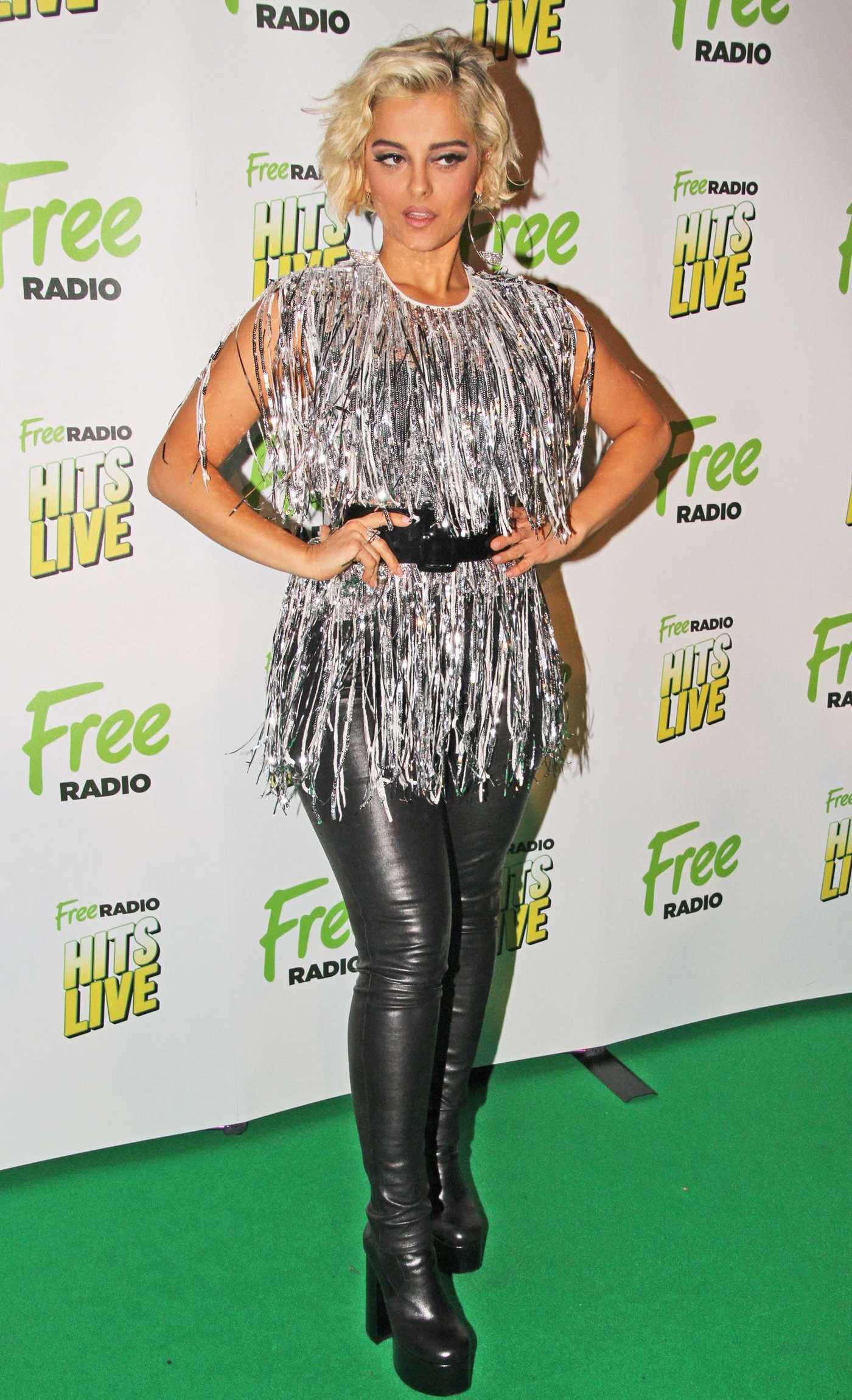 Bebe Rexha Attends Free Radio Live 2018 Concert at the Genting Arena in Birmingham 11/24/2018