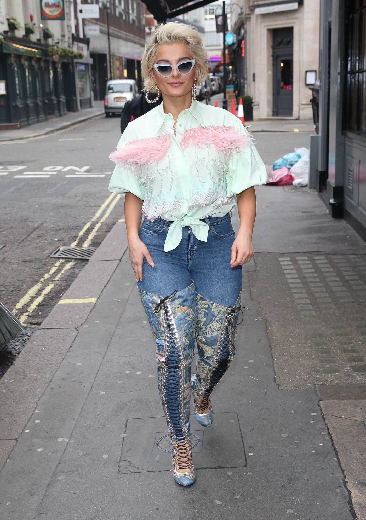 Bebe Rexha Stepped Out in London 11/23/2018