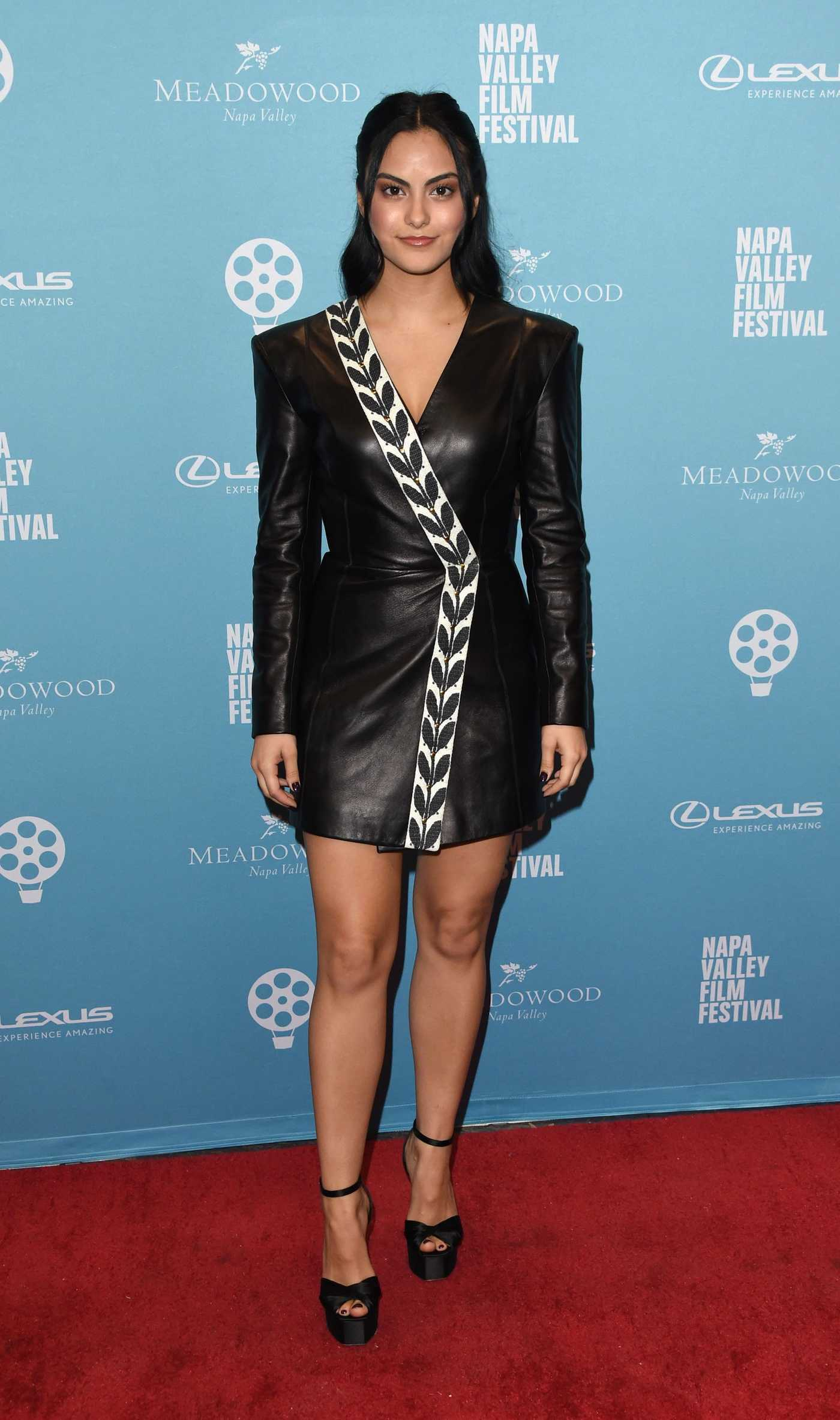 Camila Mendes Attends Celebrity Tributes During 2018 Napa Valley Film Festival in Napa 11/08/2018
