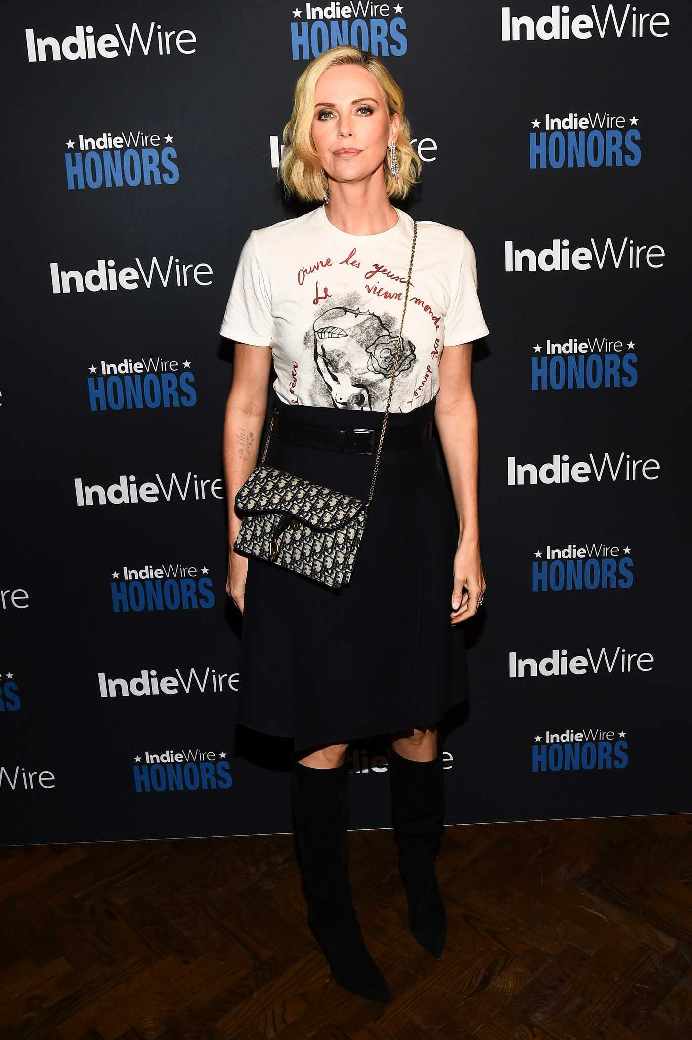 Charlize Theron Attends 2018 IndieWire Honors at No Name in Los Angeles 11/01/2018