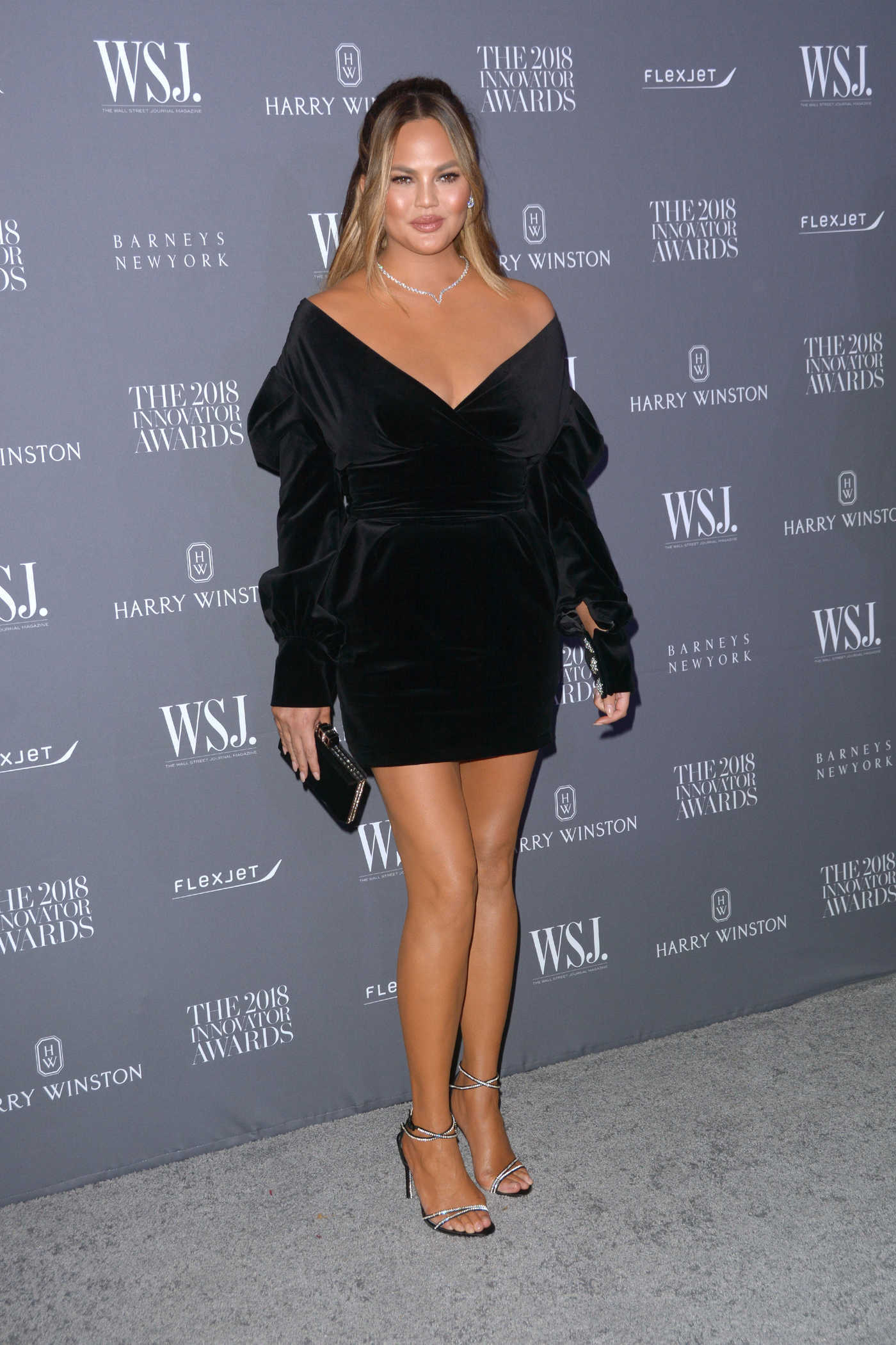 Chrissy Teigen Attends 2018 WSJ Magazine Innovator Awards in NYC 11/07/2018