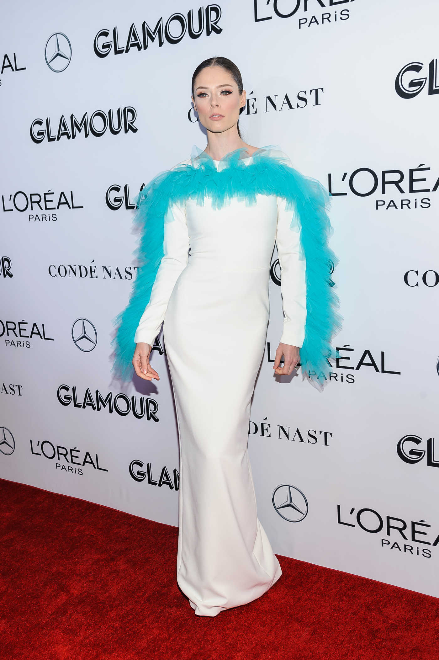 Coco Rocha Attends 2018 Glamour Women of the Year Awards in NYC 11/12/2018