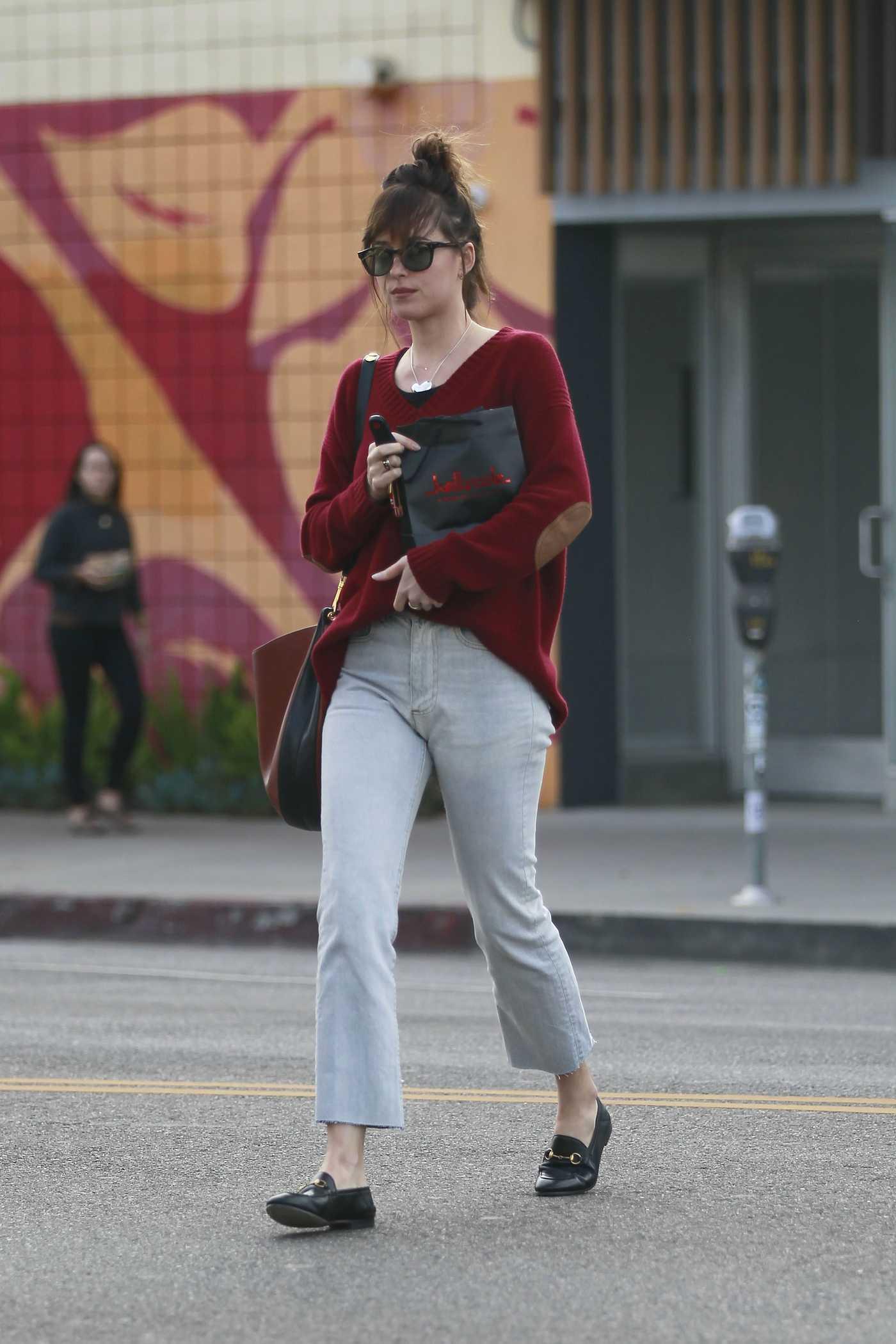 Dakota Johnson Goes Shopping at Kelly Cole in Los Angeles 11/27/2018