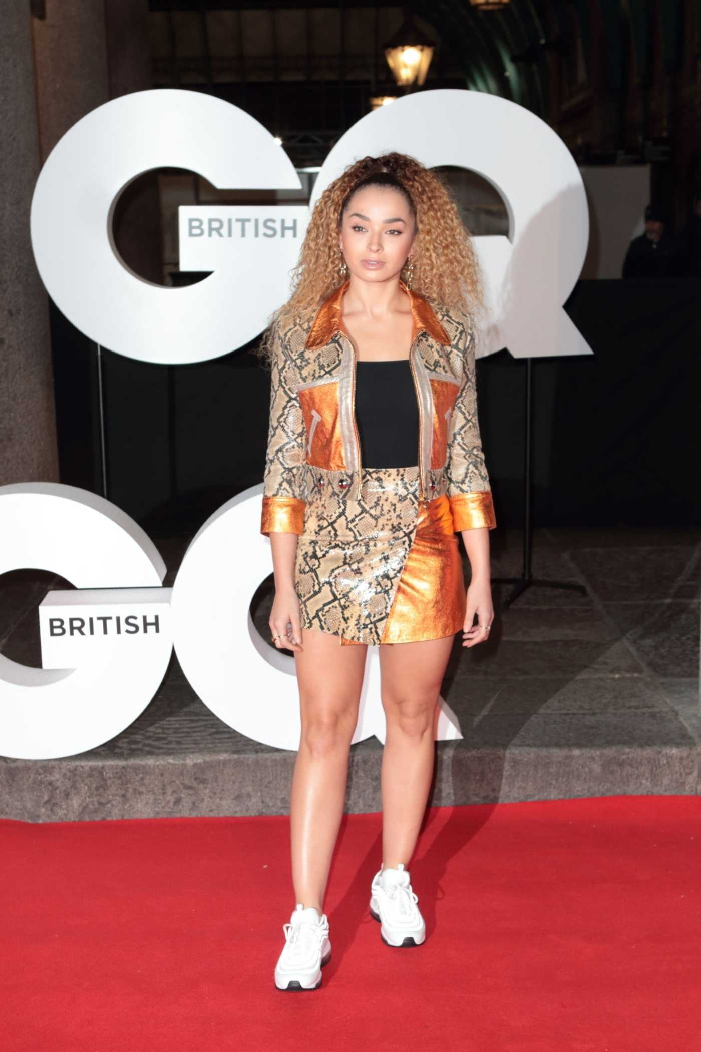 Ella Eyre Attends GQ Magazine 30th Anniversary Party in London 10/29/2018