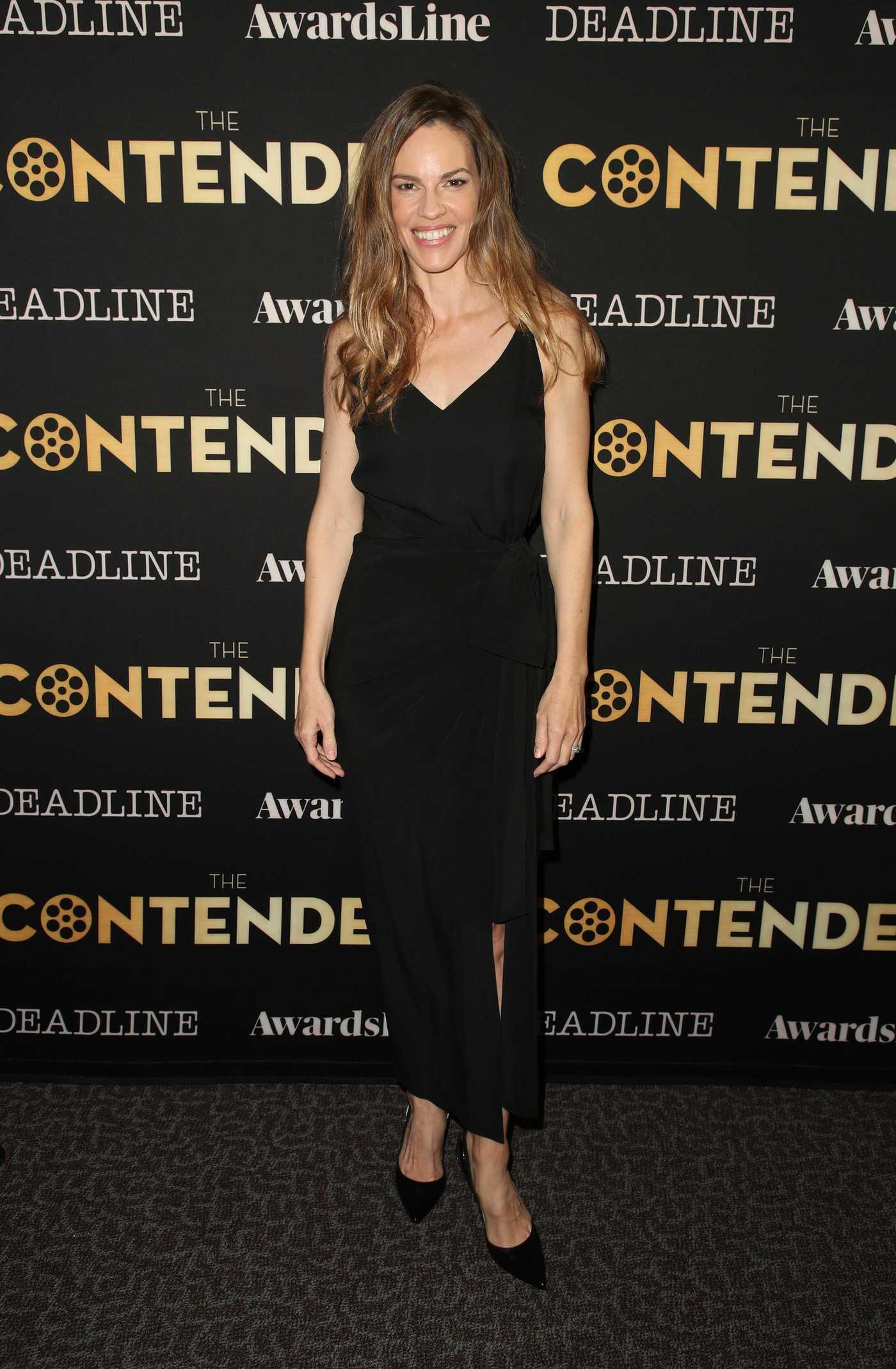 Hilary Swank Attends 2018 Deadline Contenders in Los Angeles 11/03/2018