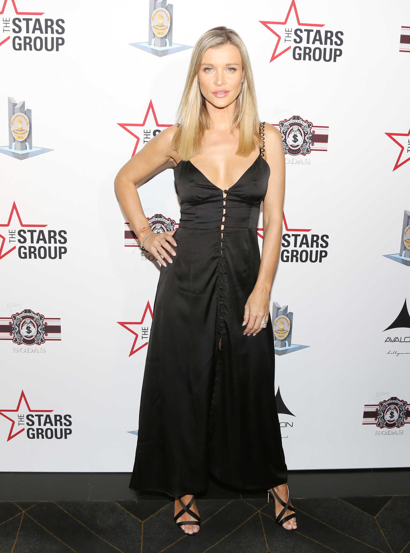 Joanna Krupa Attends Heroes for Heroes: LAPD Memorial Foundation Celebrity Poker Tournament in Los Angeles 11/10/2018