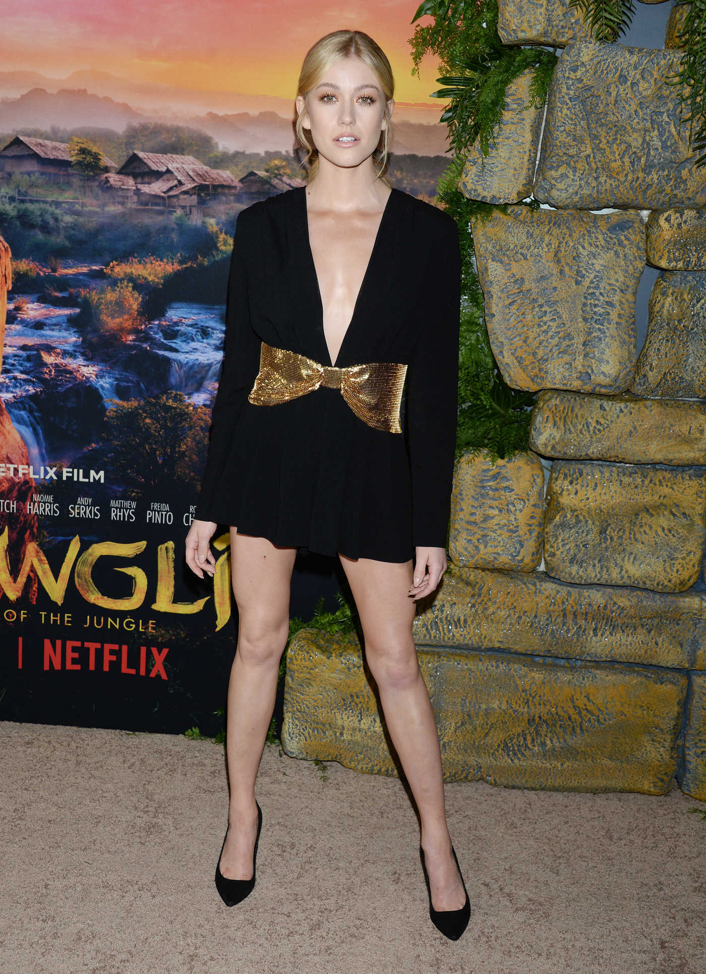 Katherine McNamara Attends Mowgli Premiere in Los Angeles 11/28/2018