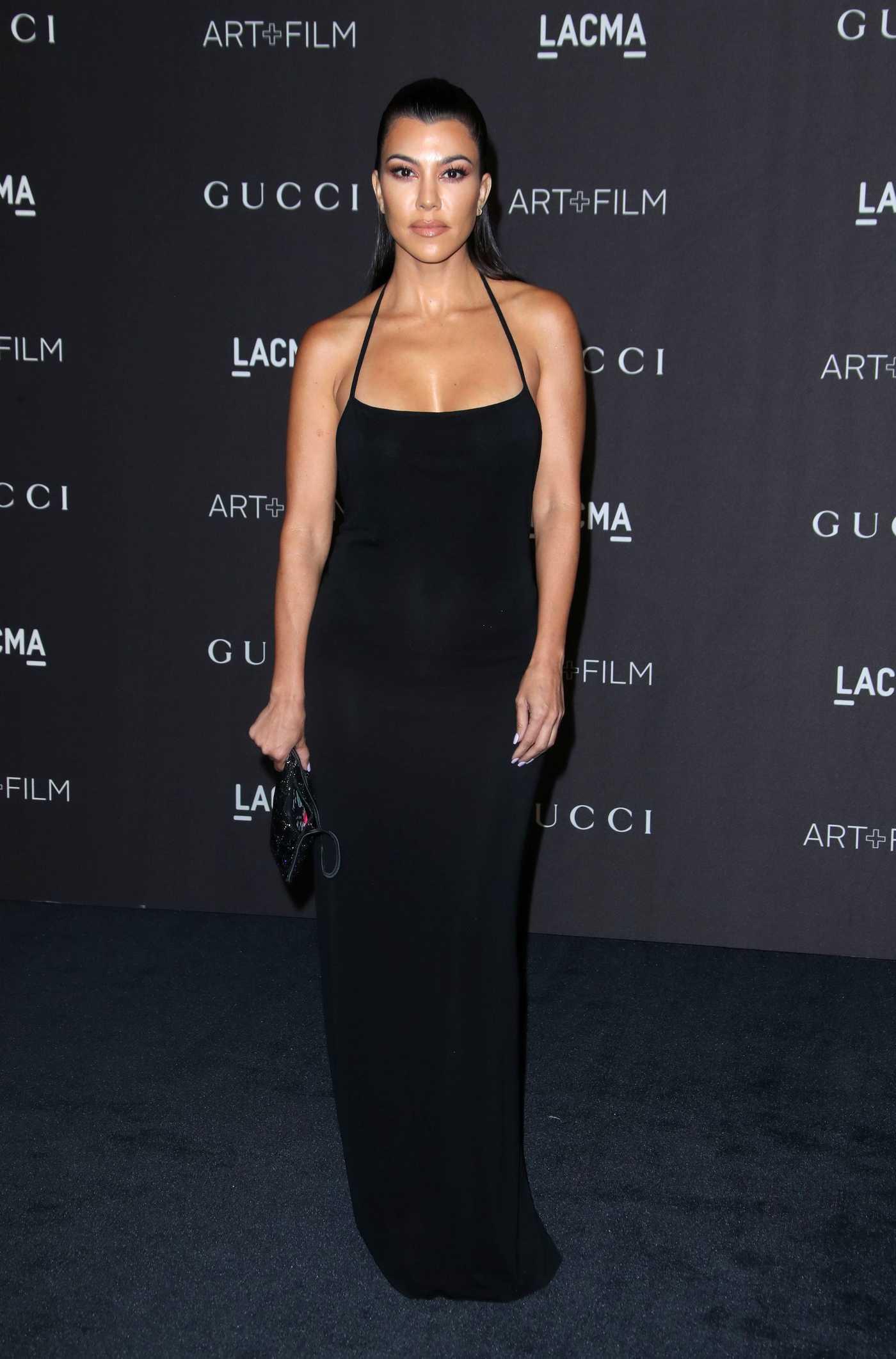 Kourtney Kardashian Attends 2018 LACMA Art and Film Gala in Los Angeles 11/03/2018
