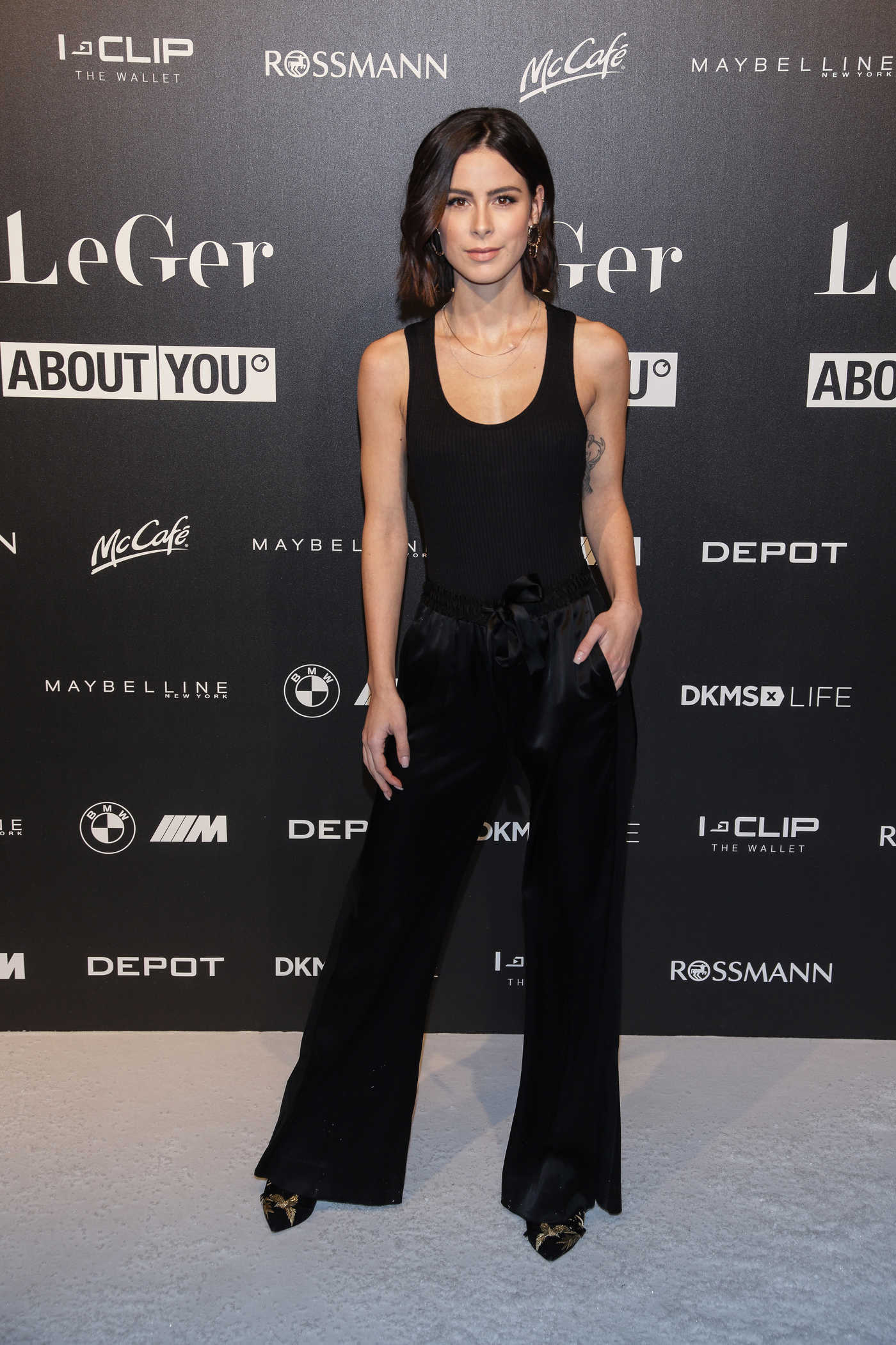 Lena Meyer-Landrut Attends Lena Gercke's Christmas Dinner Party in Hamburg 11/27/2018