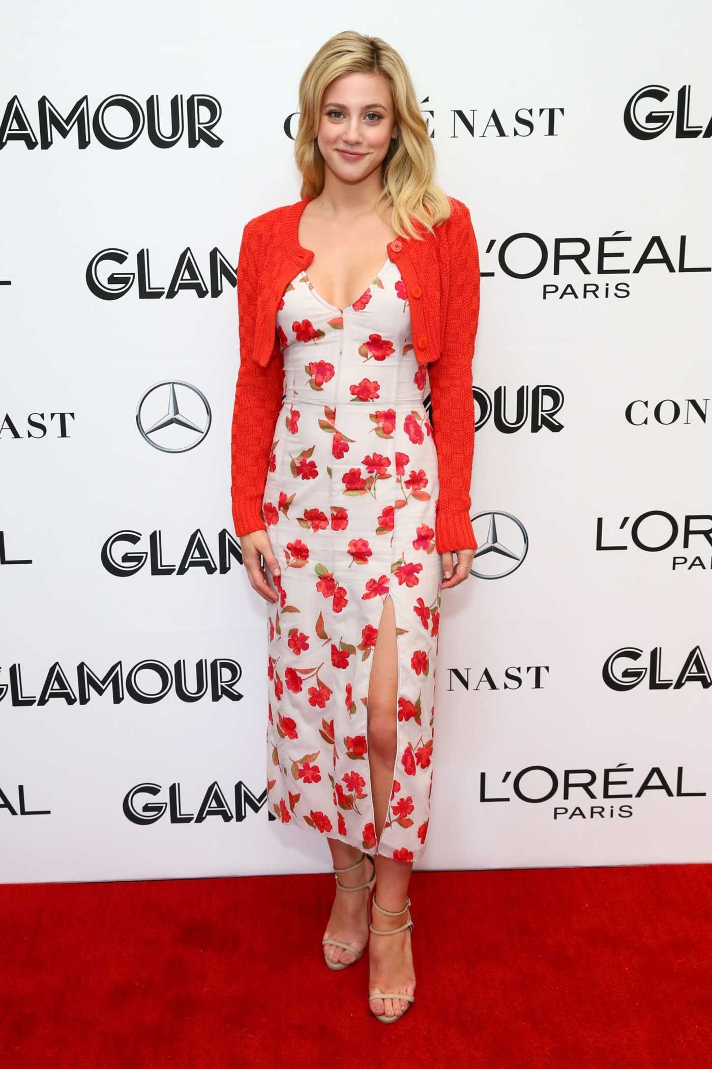 Lili Reinhart Attends the 2018 Glamour Women of The Year Summit: Women Rise at Spring Studios in New York City 11/11/2018