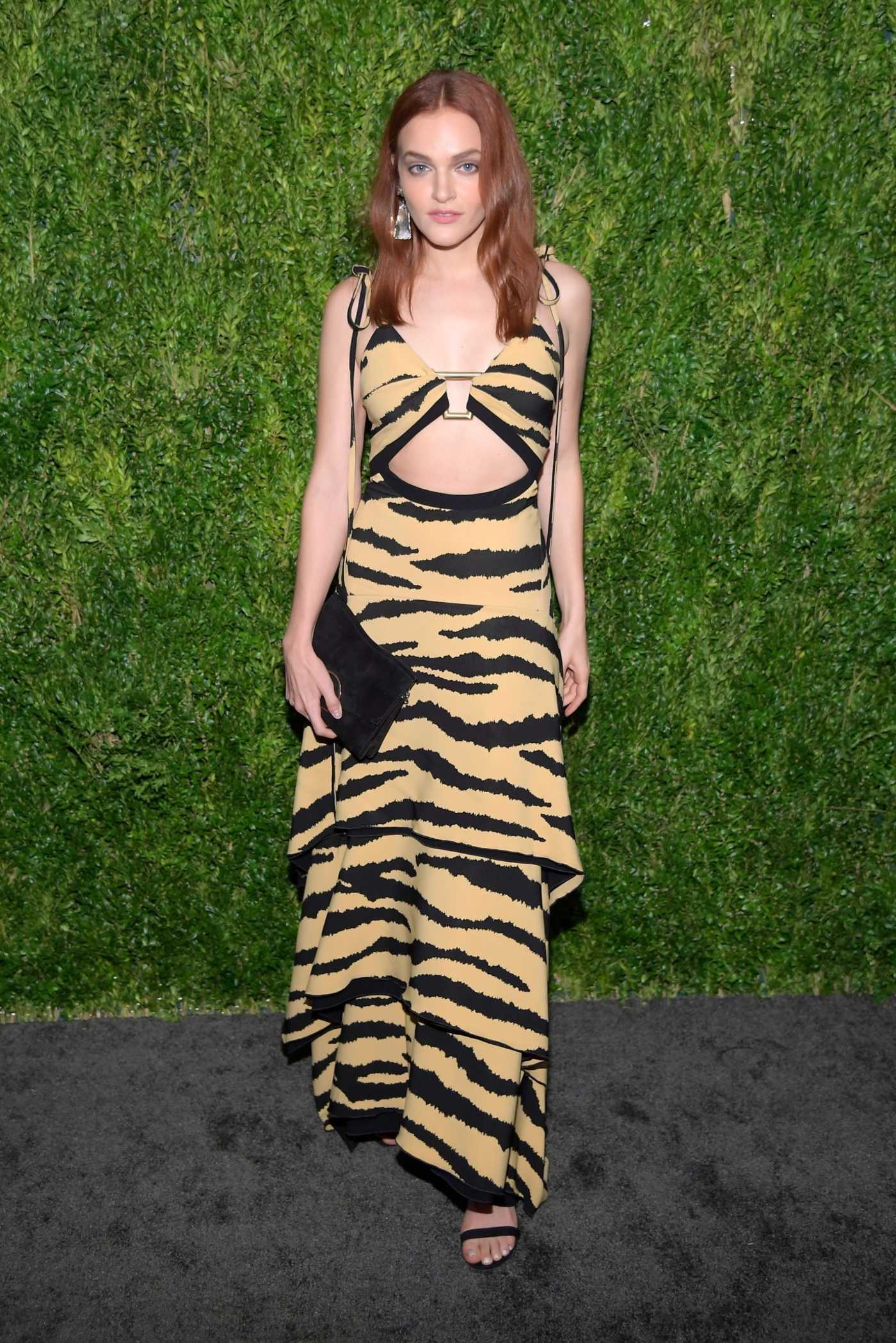 Madeline Brewer Attends CFDA Vogue Fashion Fund 15th Anniversary Awards in NYC 11/05/2018