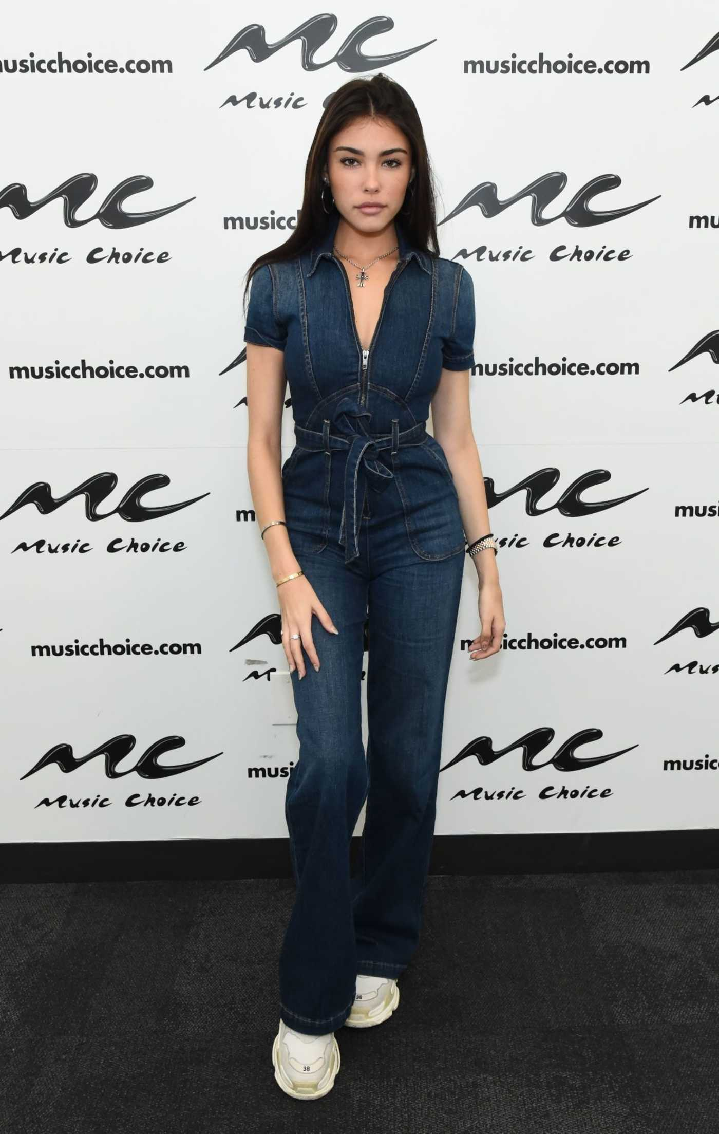 Madison Beer Visits at Music Choice in NYC 11/08/2018