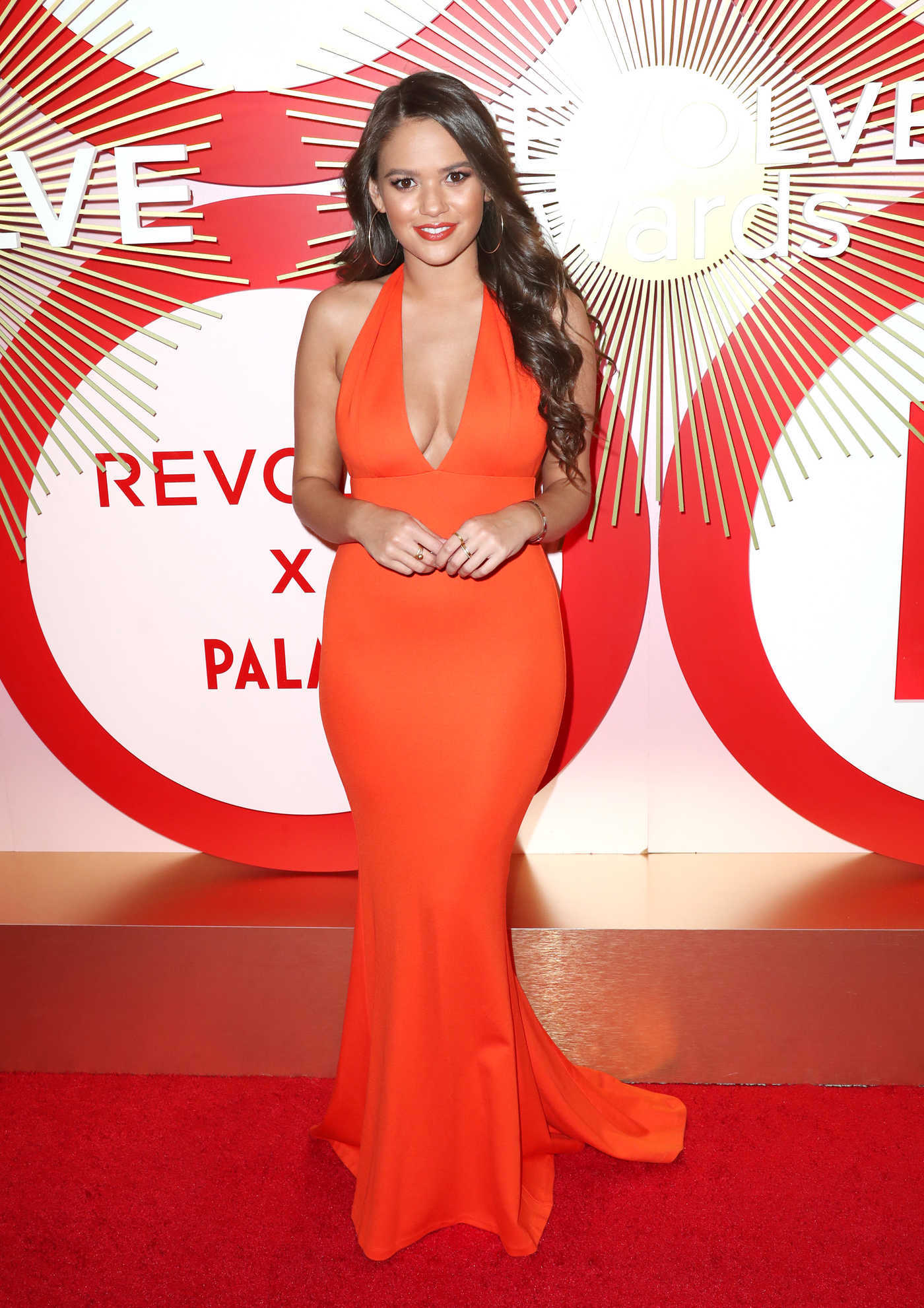 Madison Pettis Attends Revolve's Second Annual REVOLVEawards in Las Vegas 11/09/2018