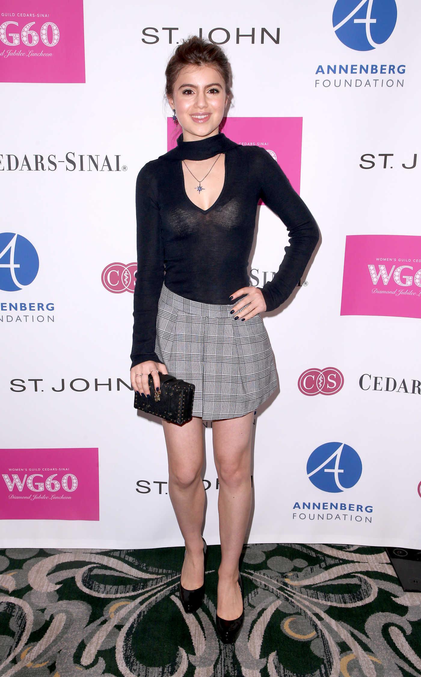 Sami Gayle Attends Women's Guild Cedars-Sinai's Diamond Jubilee Luncheon in Beverly Hills 11/08/2018
