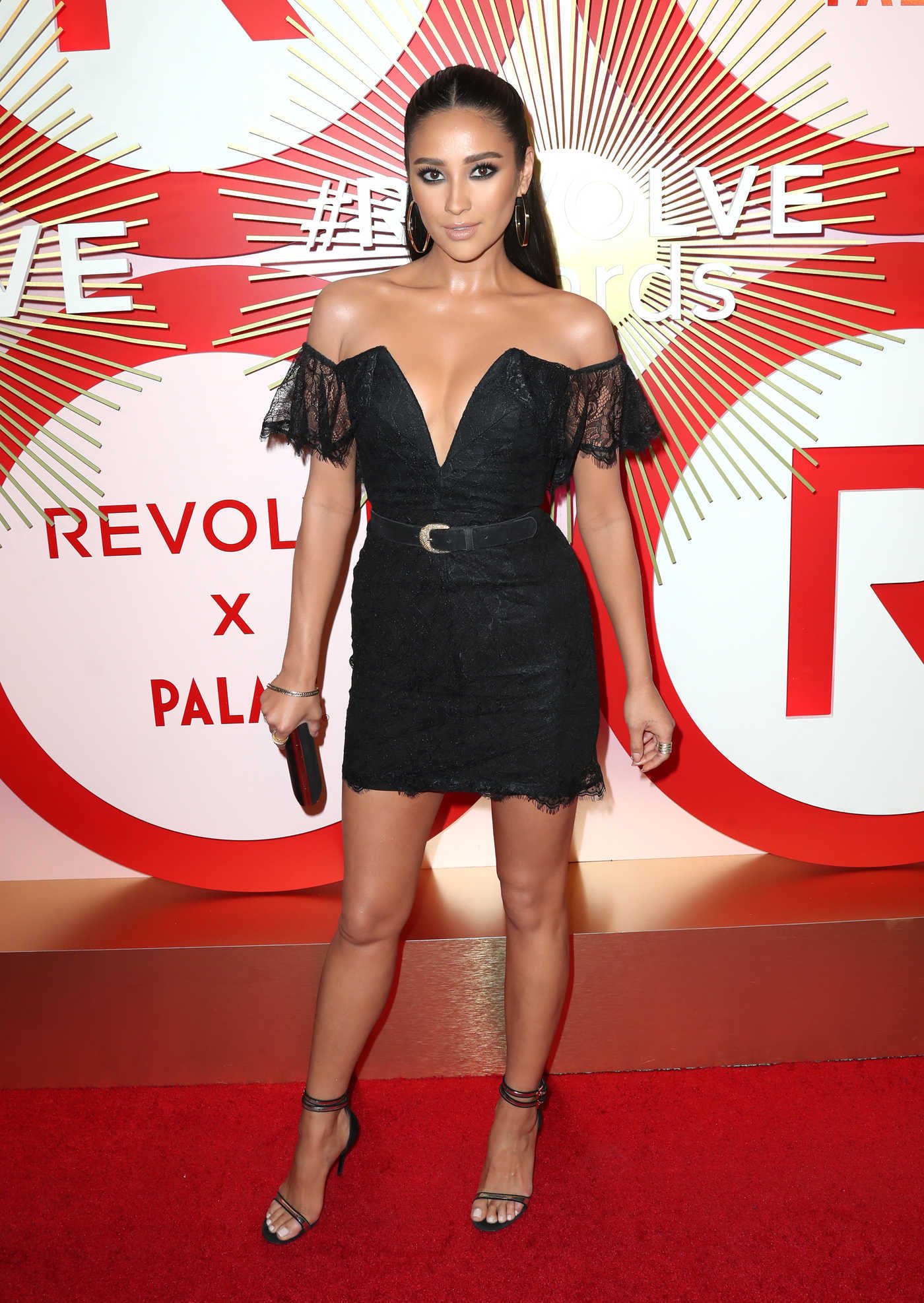 Shay Mitchell Attends Revolve's Second Annual REVOLVEawards in Las Vegas 11/09/2018