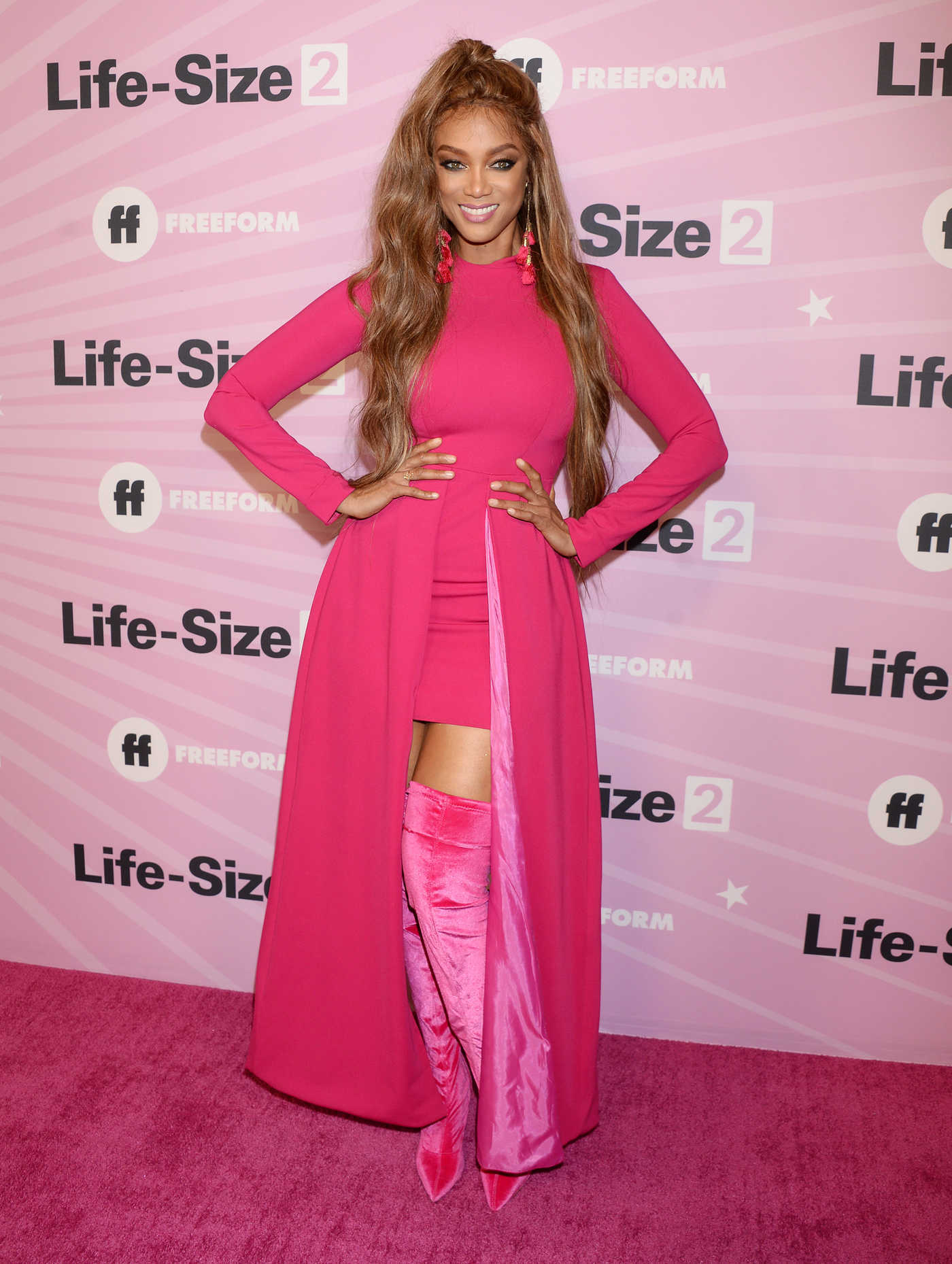 Tyra Banks Attends Life Size 2 Premiere in Hollywood 11/27/2018