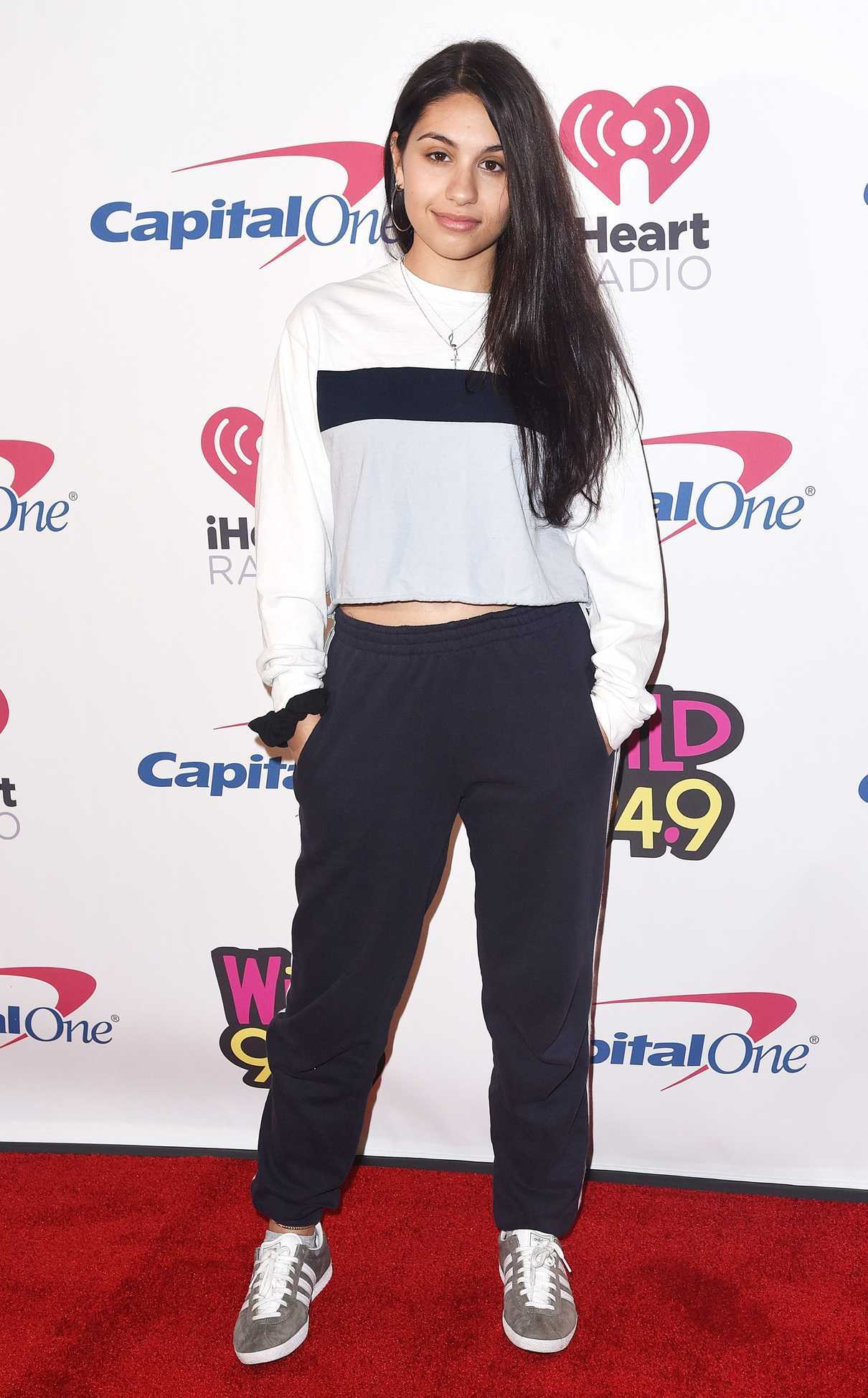 Alessia Cara Attends 2018 WiLD 94.9's FM's iHeartRadio Jingle Ball at Bill Graham Civic Auditorium in San Francisco 12/01/2018