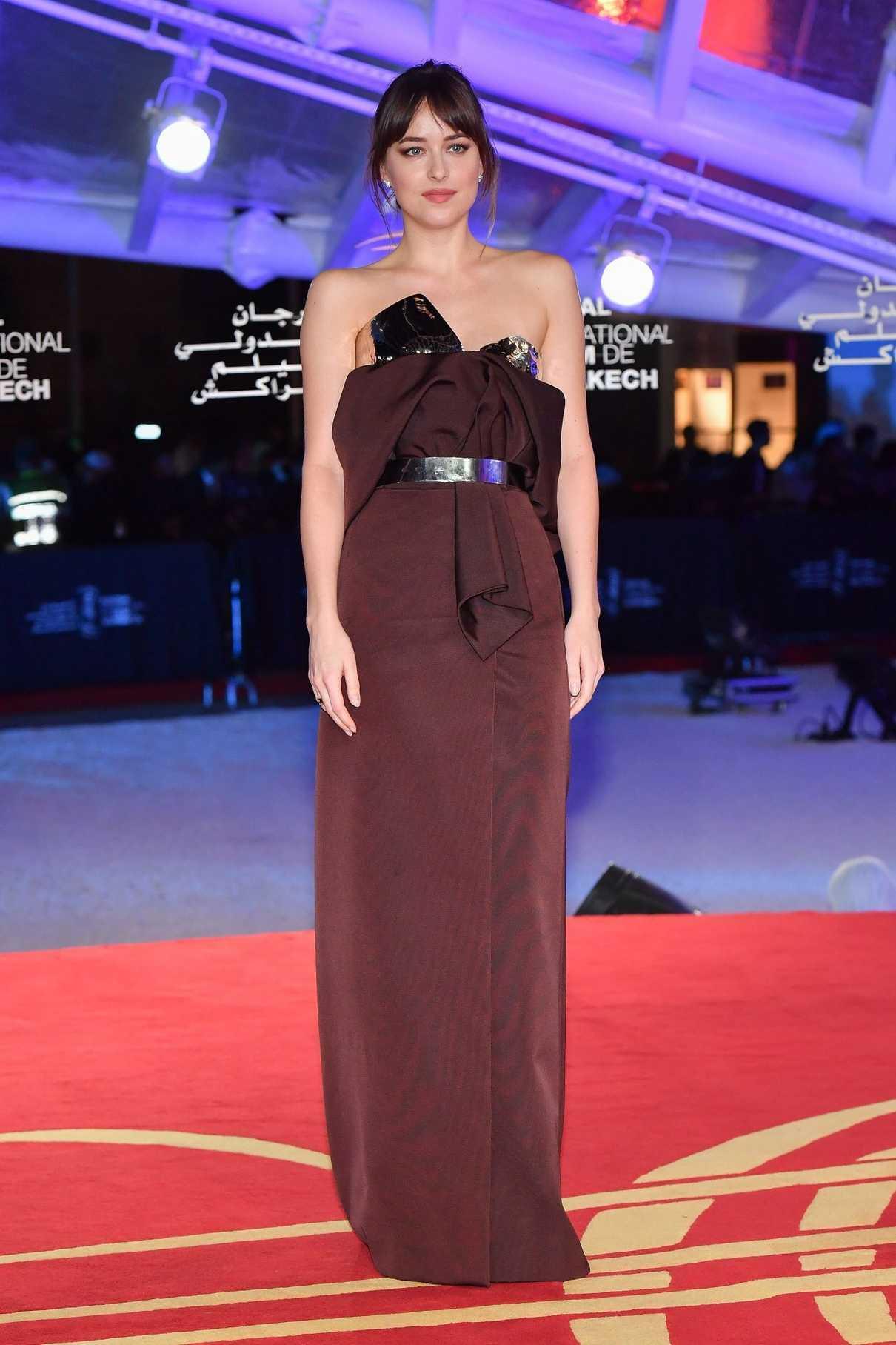 Dakota Johnson Attends Robert De Niro Tribute During 2018 Marrakech International Film Festival in Marrakech 12/01/2018