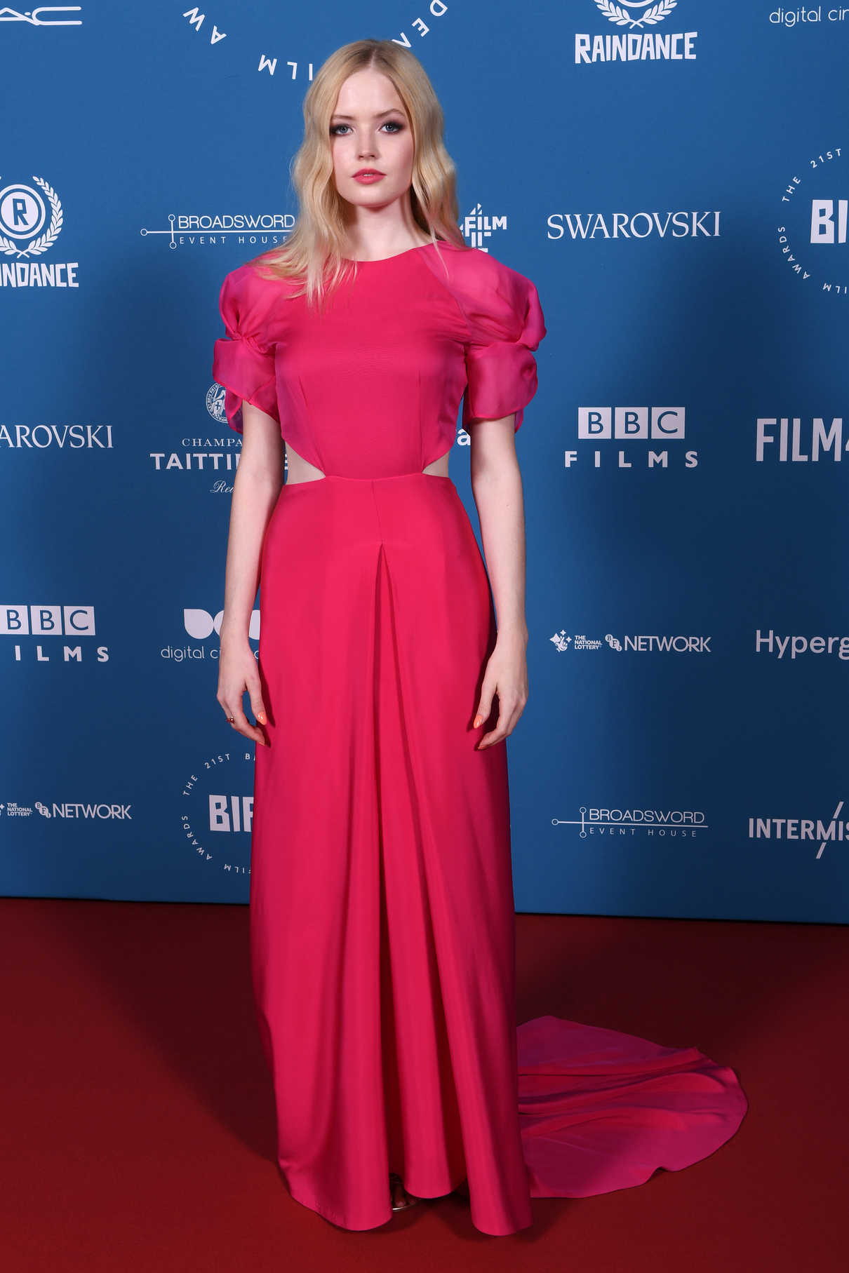 Ellie Bamber Attends the 21st British Independent Film Awards in London 12/02/2018