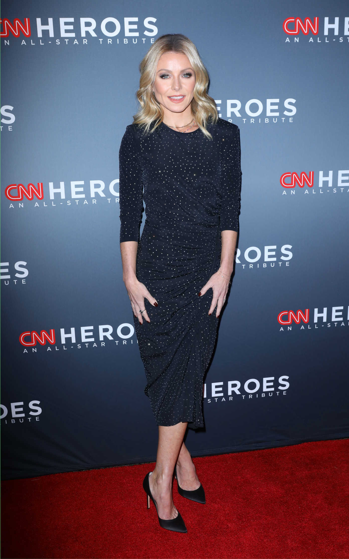 Kelly Ripa Attends The 12th Annual Cnn Heroes An All Star Tribute In New York