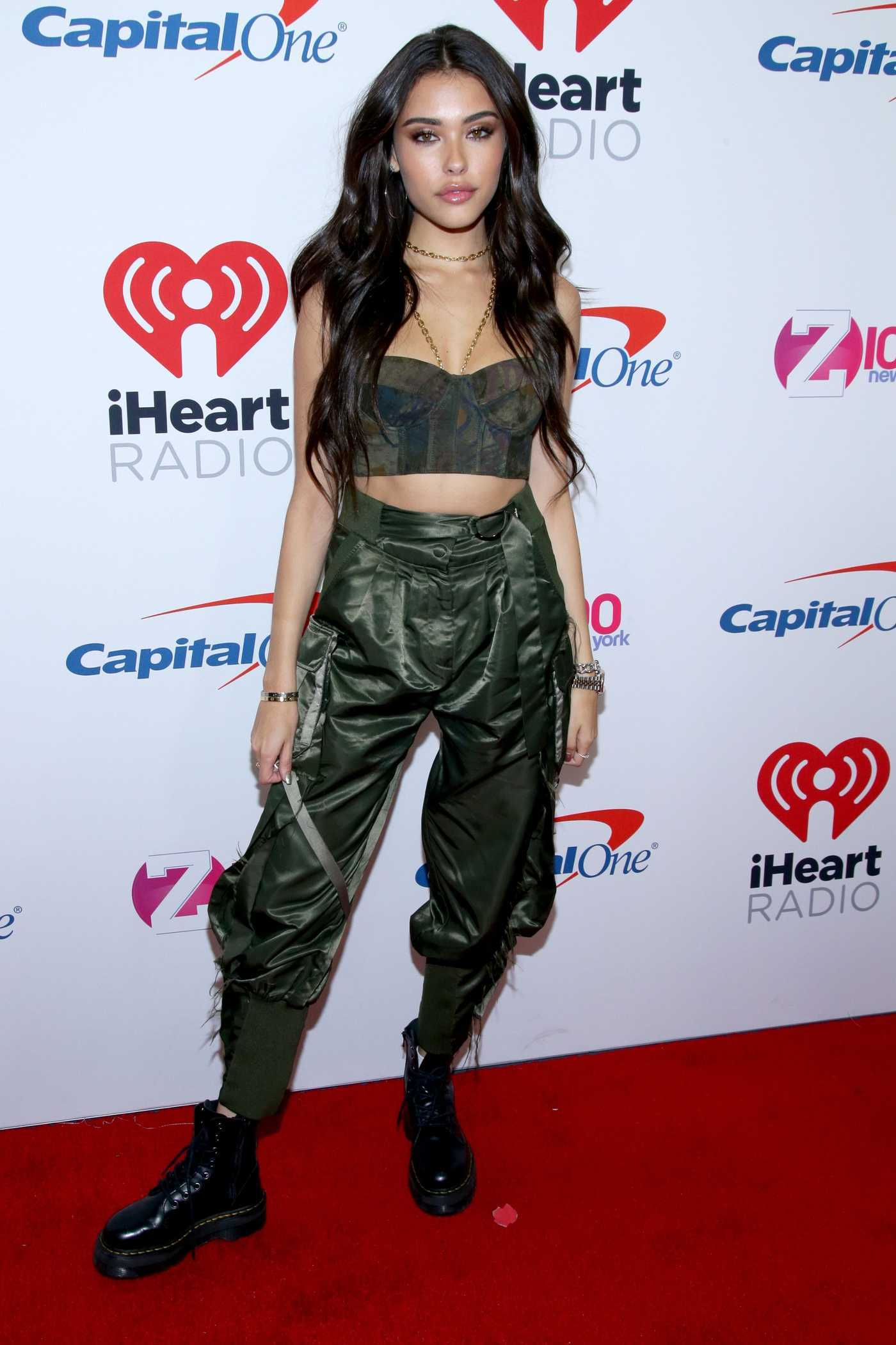 Madison Beer Attends Z100's Jingle Ball in New York City 12/07/2018