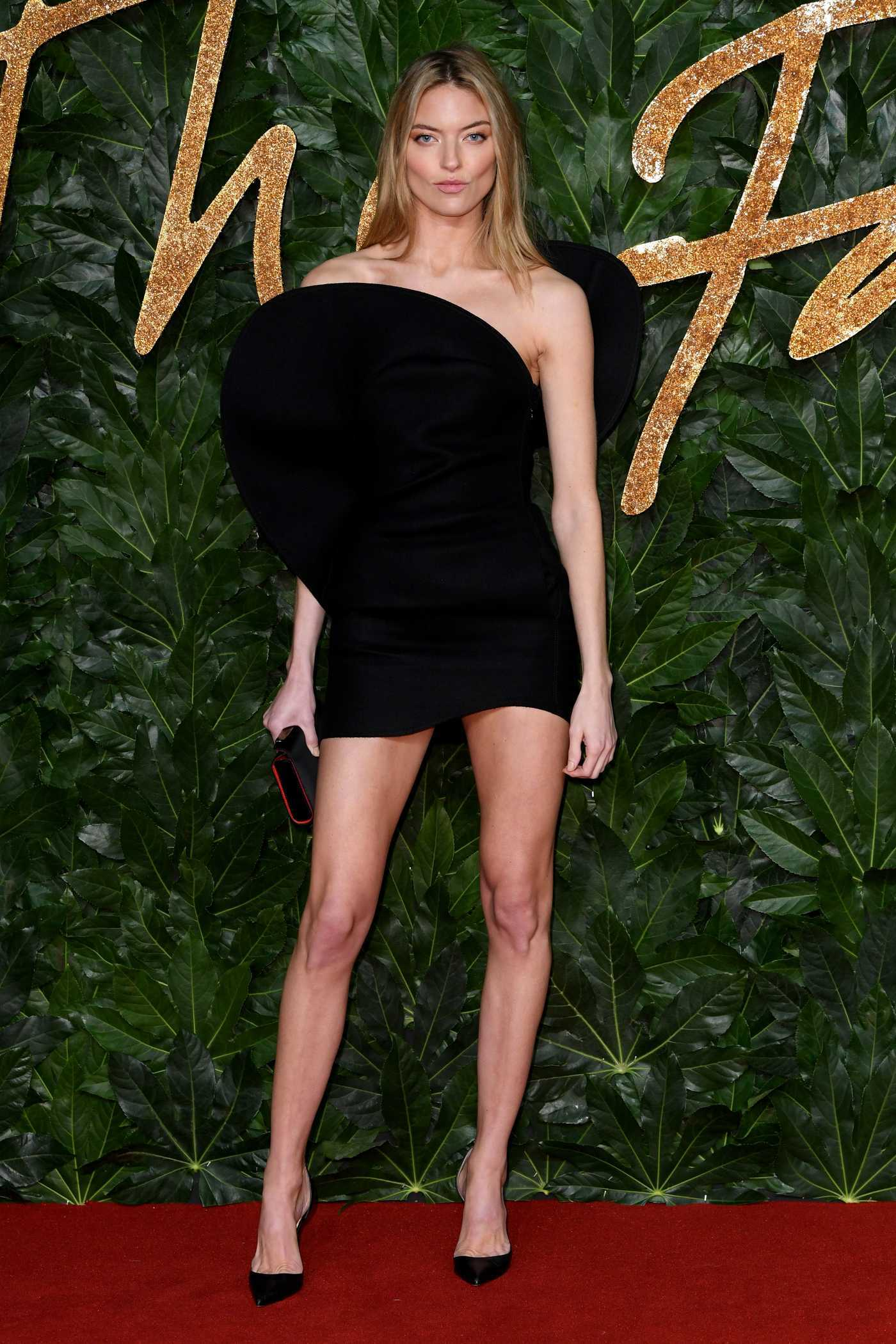 Martha Hunt Attends 2018 British Fashion Awards in London 12/10/2018
