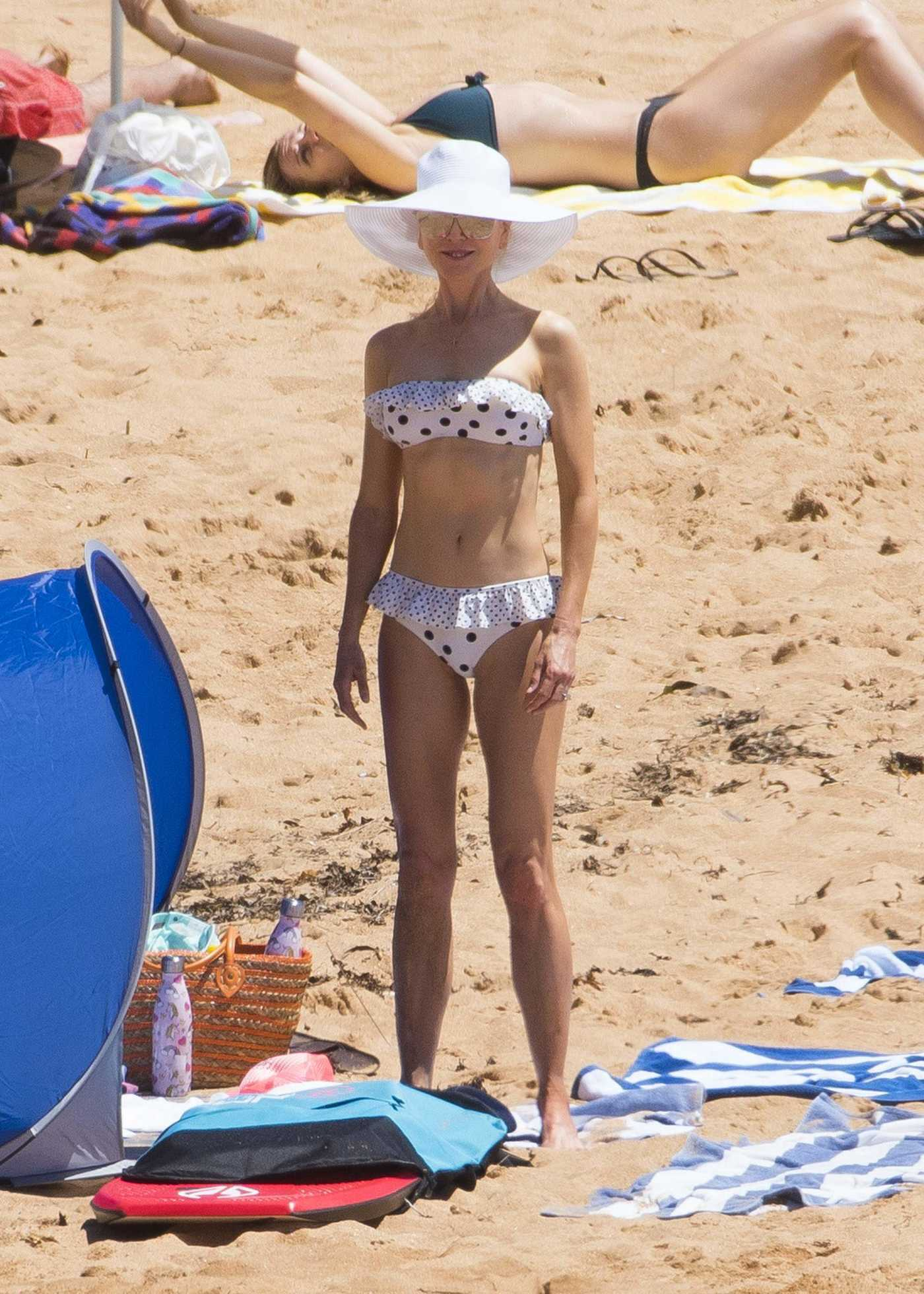 Nicole Kidman in Bikini at Palm Beach in Sydney 12/24/2018