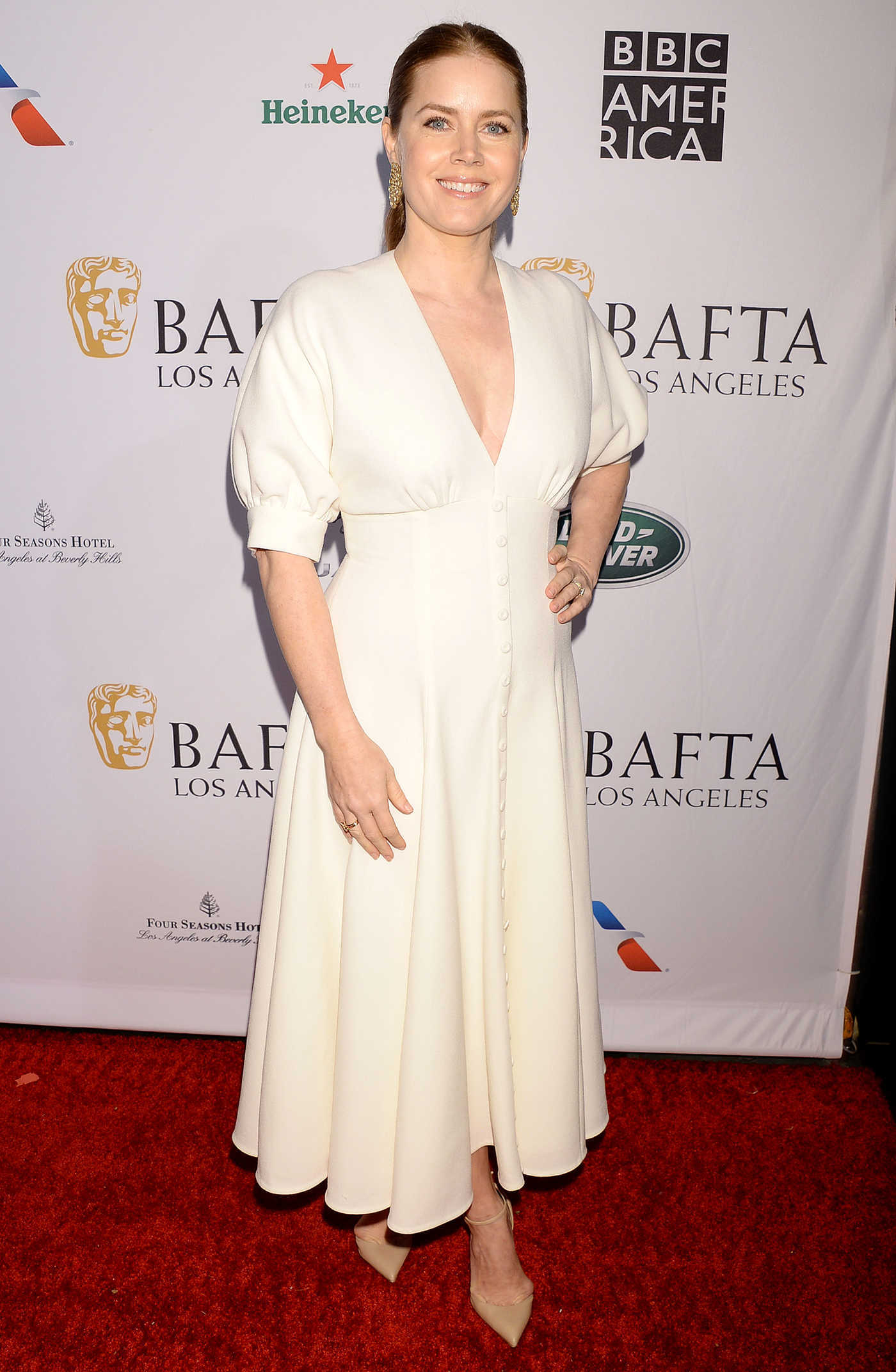 Amy Adams Attends BAFTA Tea Party in LA 01/05/2019