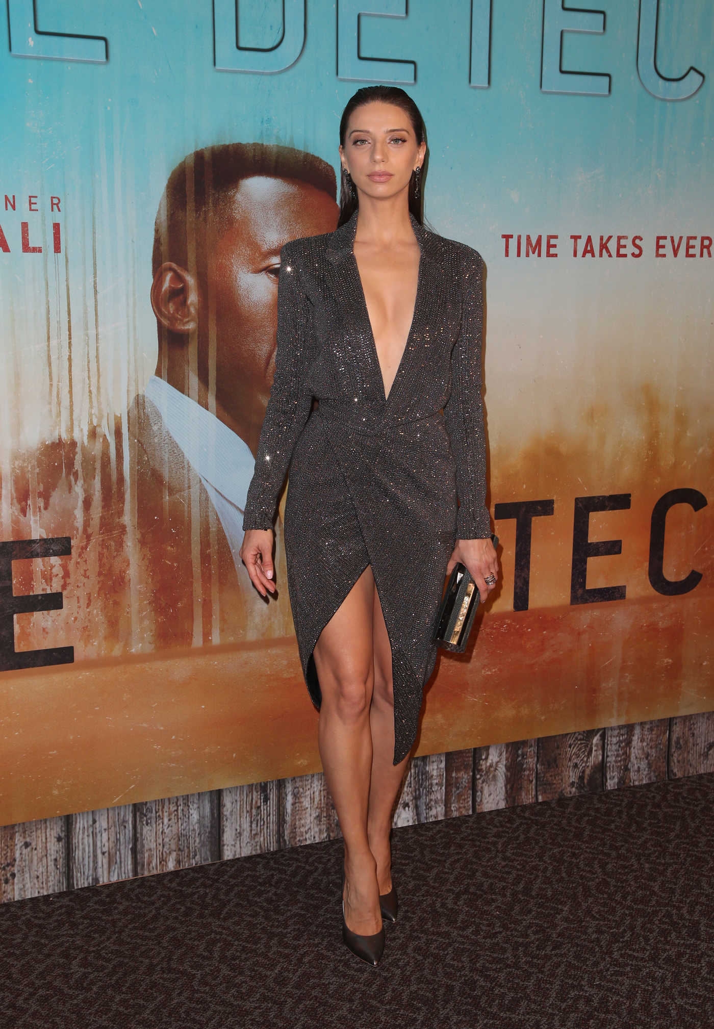 Angela Sarafyan Attends True Detective Season 3 Premiere in Los Angeles 01/10/2019