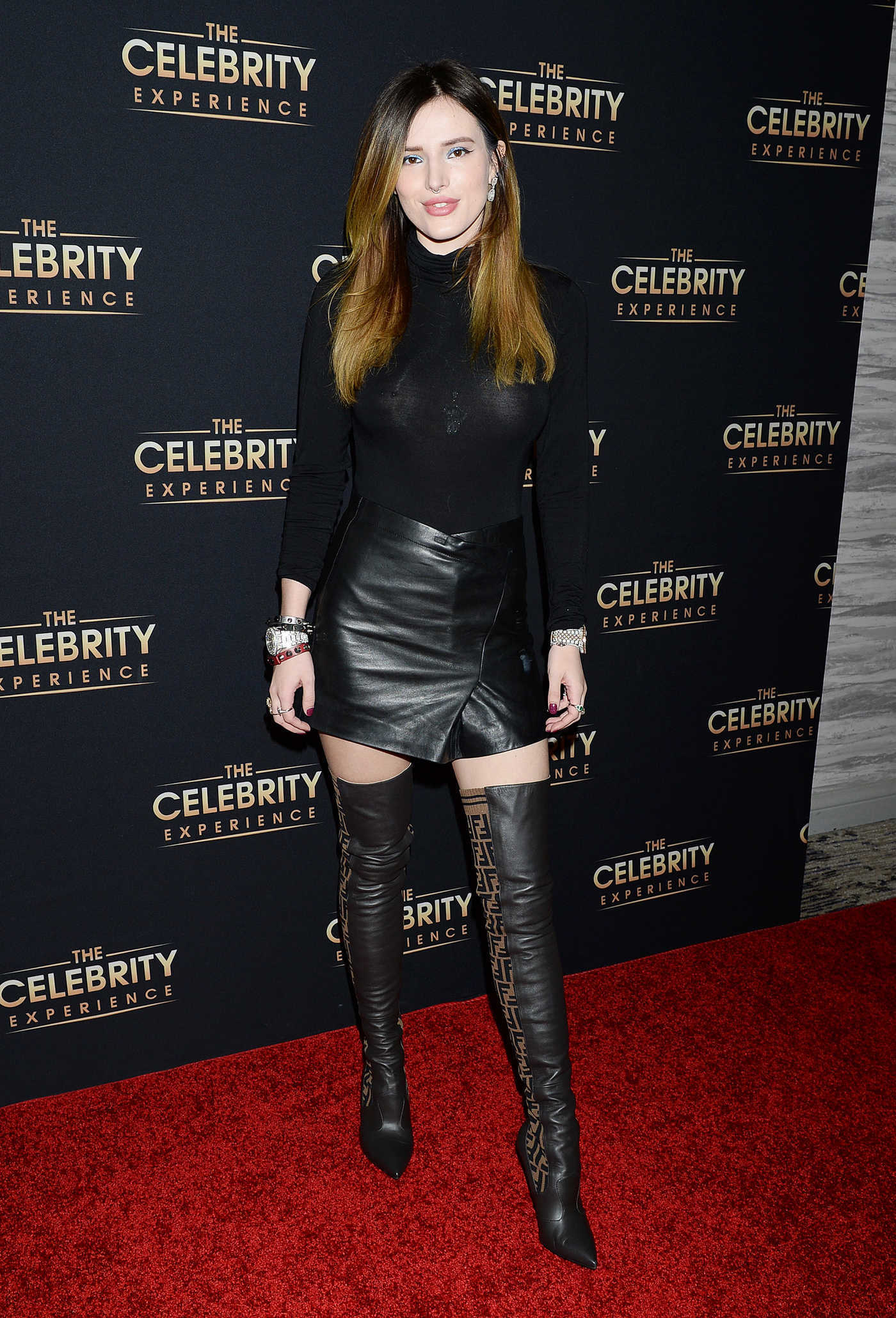 Bella Thorne Attends the Celebrity Experience Featuring Bella Thorne in Universal City 01/06/2019