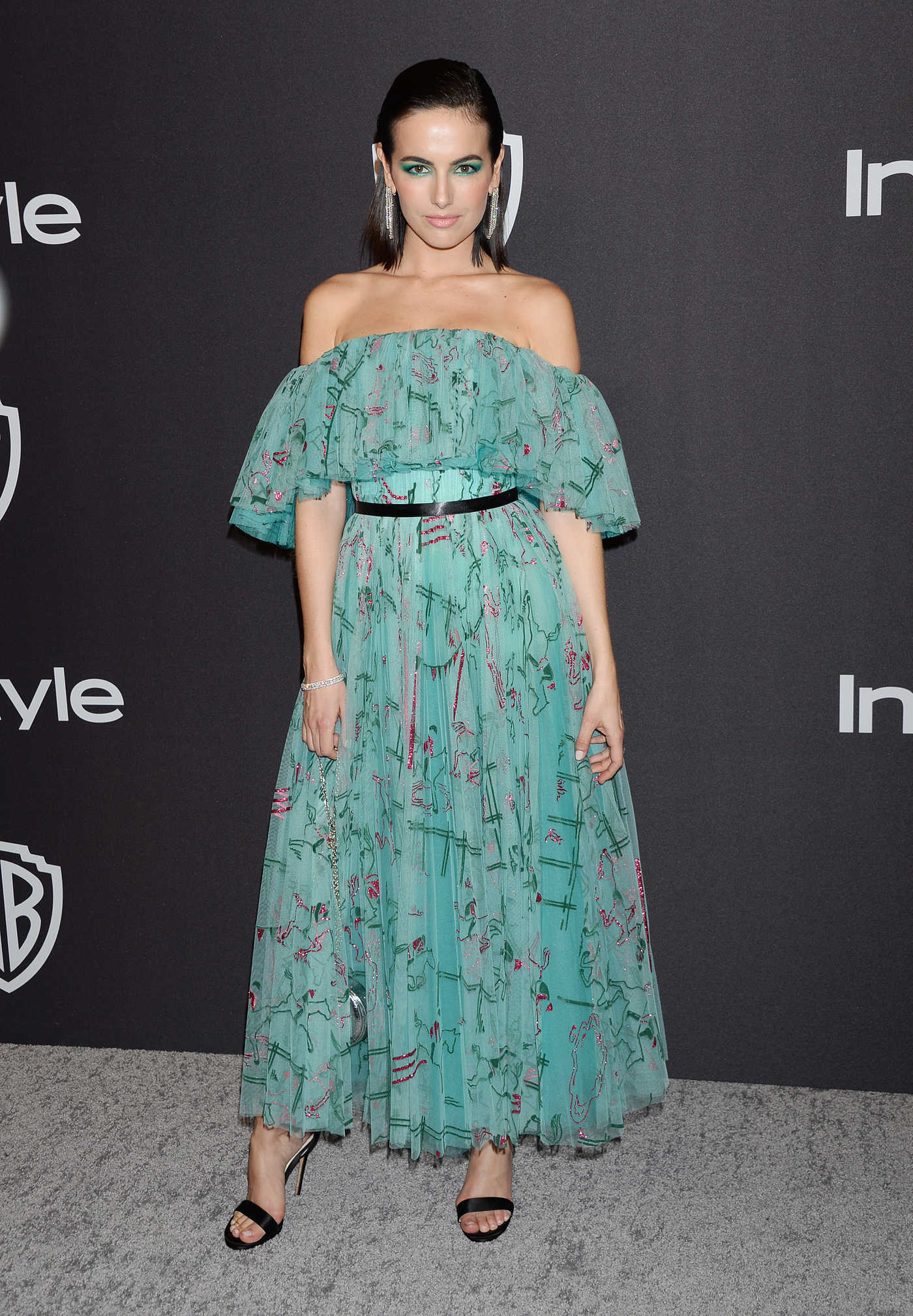 Camilla Belle Attends InStyle and Warner Bros Golden Globes After Party in Beverly Hills 01/06/2019