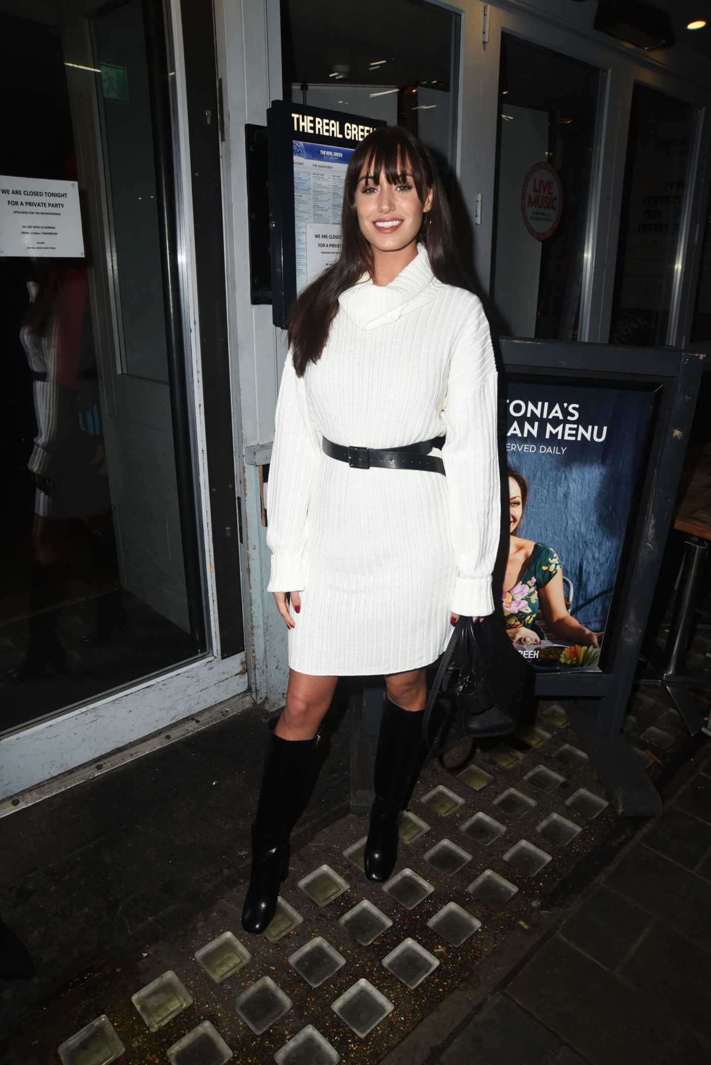 Clelia Theodorou Arrives at the Tonia Buxton's The Secret of Spice Book Launch in London 01/16/2019