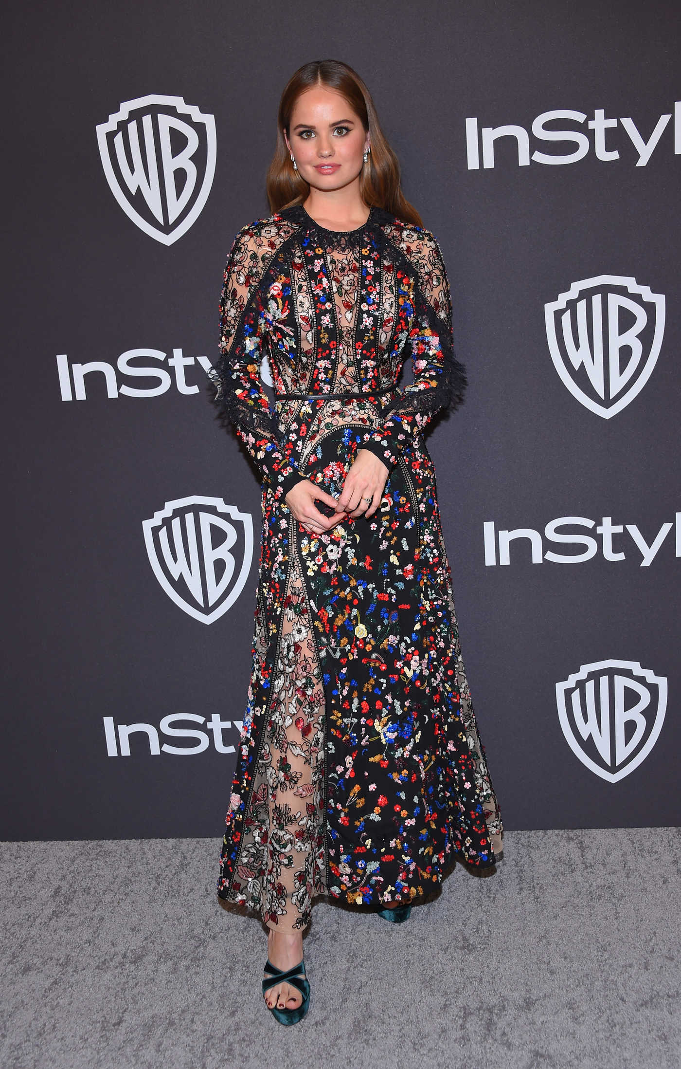 Debby Ryan Attends InStyle and Warner Bros Golden Globes After Party in Beverly Hills 01/06/2019