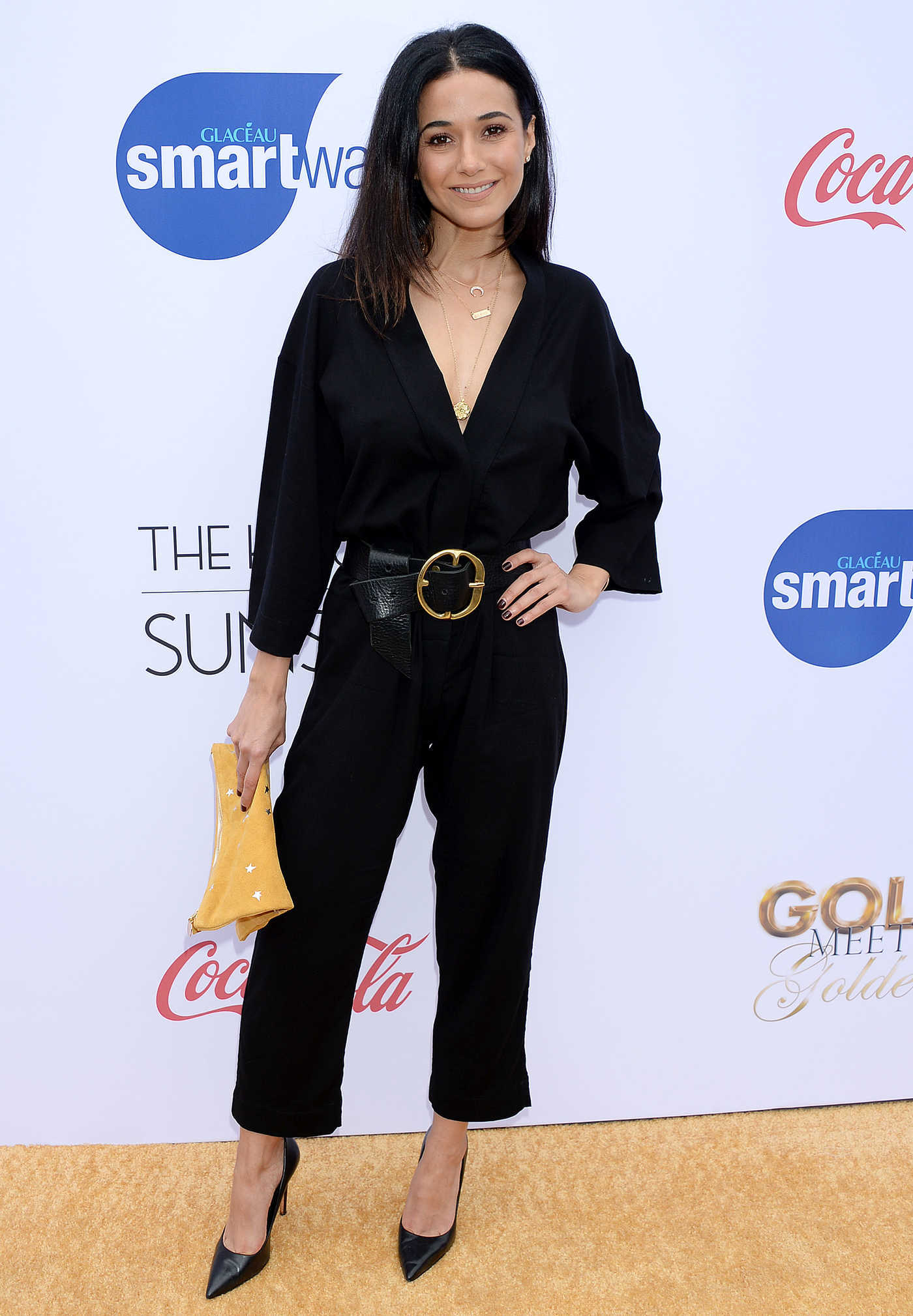 Emmanuelle Chriqui Attends the 6th Annual Gold Meets Golden Brunch in LA 01/05/2019