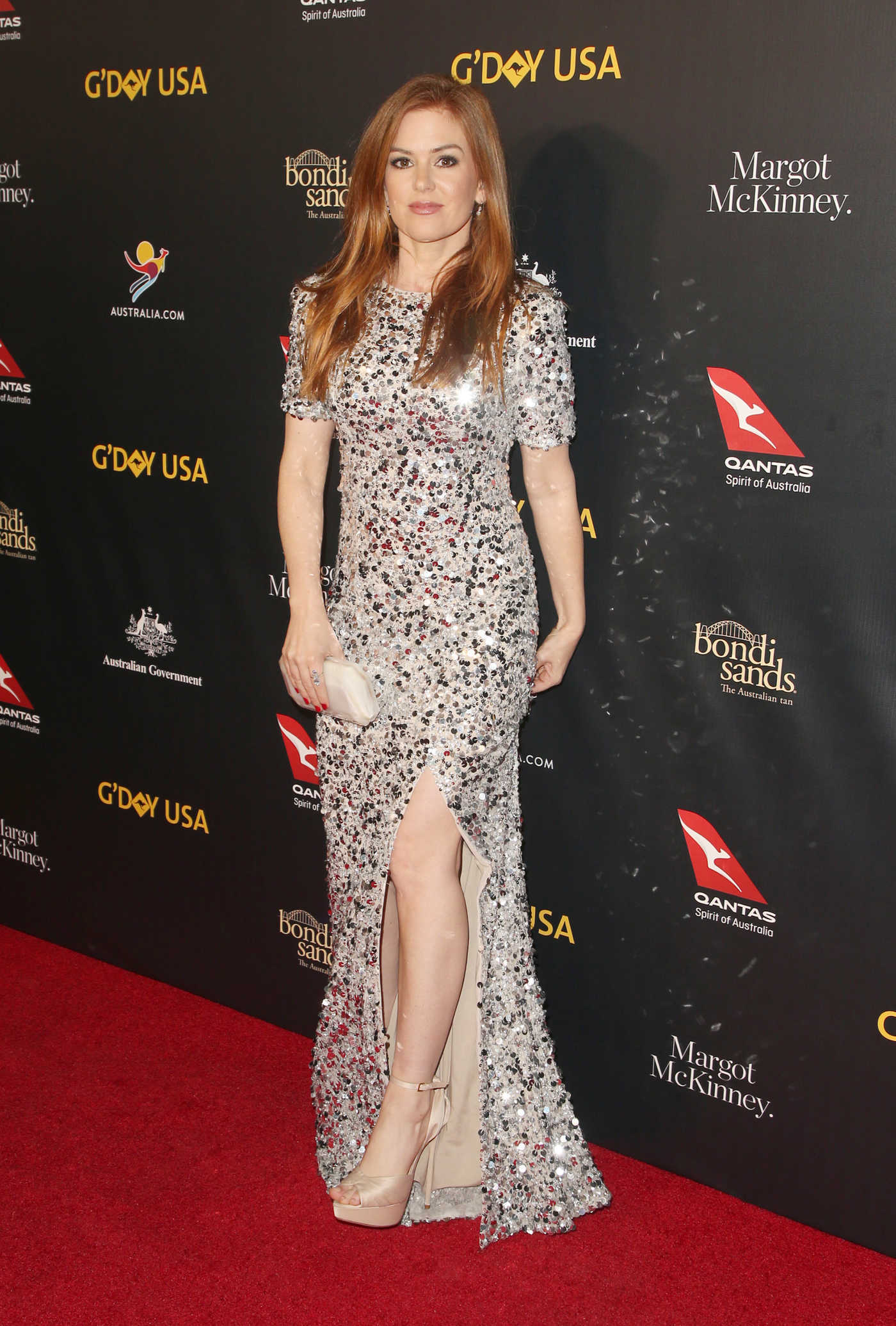 Isla Fisher Attends the 16th Annual G'Day USA Los Angeles Gala in LA 01/26/2019