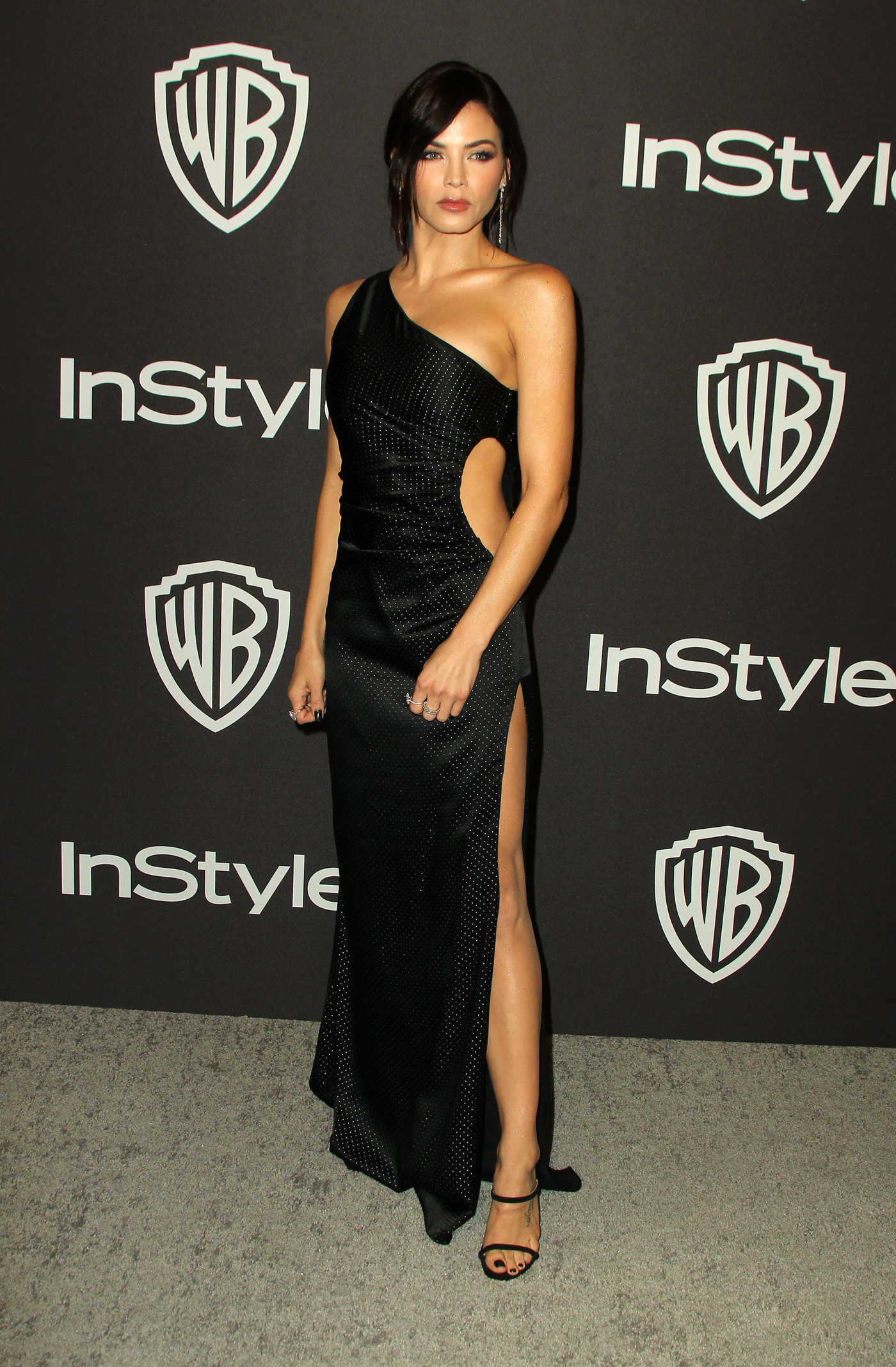 Jenna Dewan Attends InStyle and Warner Bros Golden Globes After Party in Beverly Hills 01/06/2019