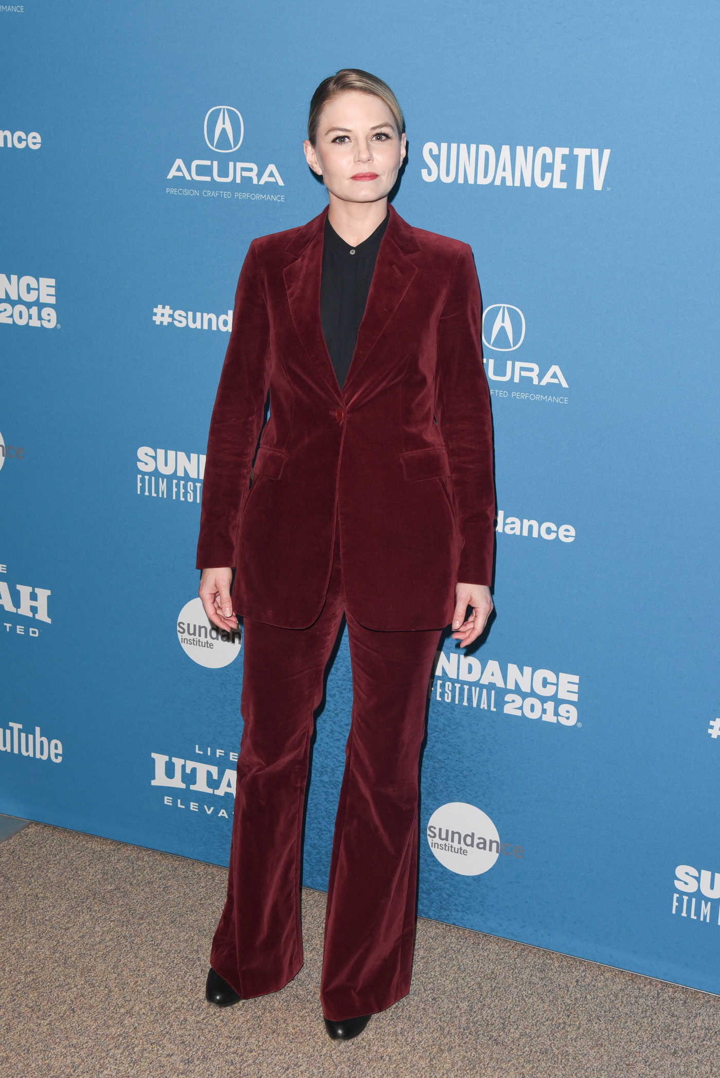 Jennifer Morrison Attends The Report Premiere During Sundance Film Festival in Park City 01/26/2019
