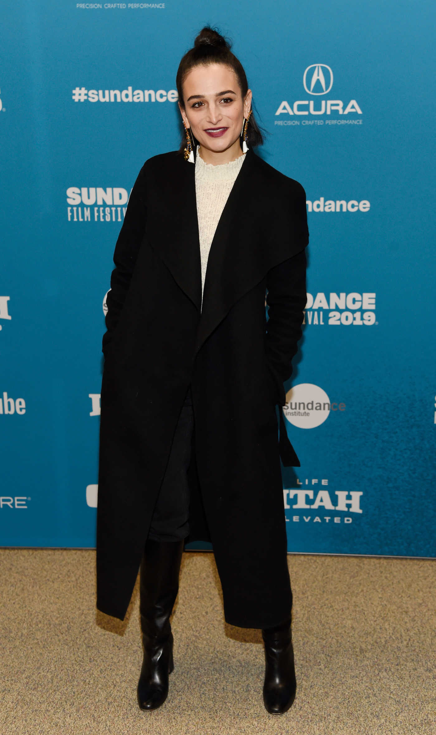 Jenny Slate Attends The Sunlit Night Premiere During Sundance Film Festival in Park City 01/26/2019